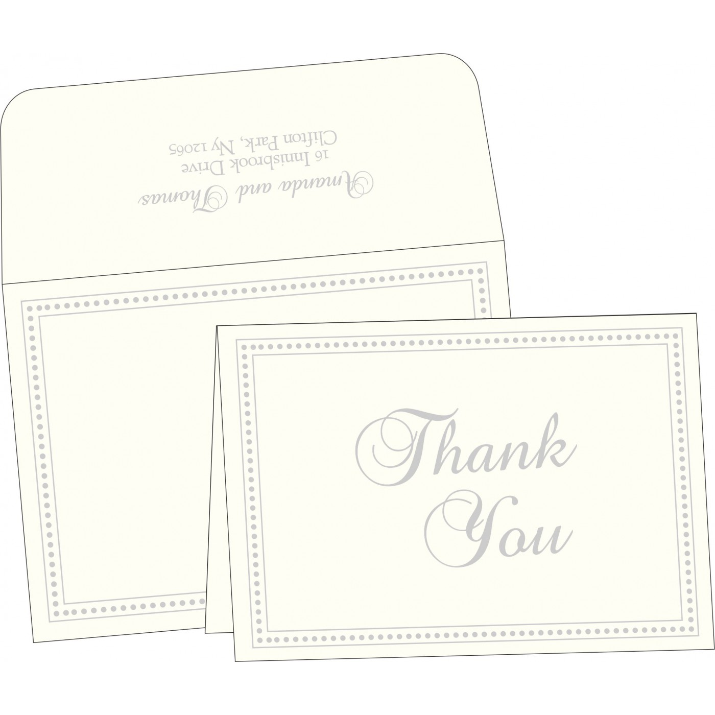 Thank You Cards : TYC-2015 - 123WeddingCards