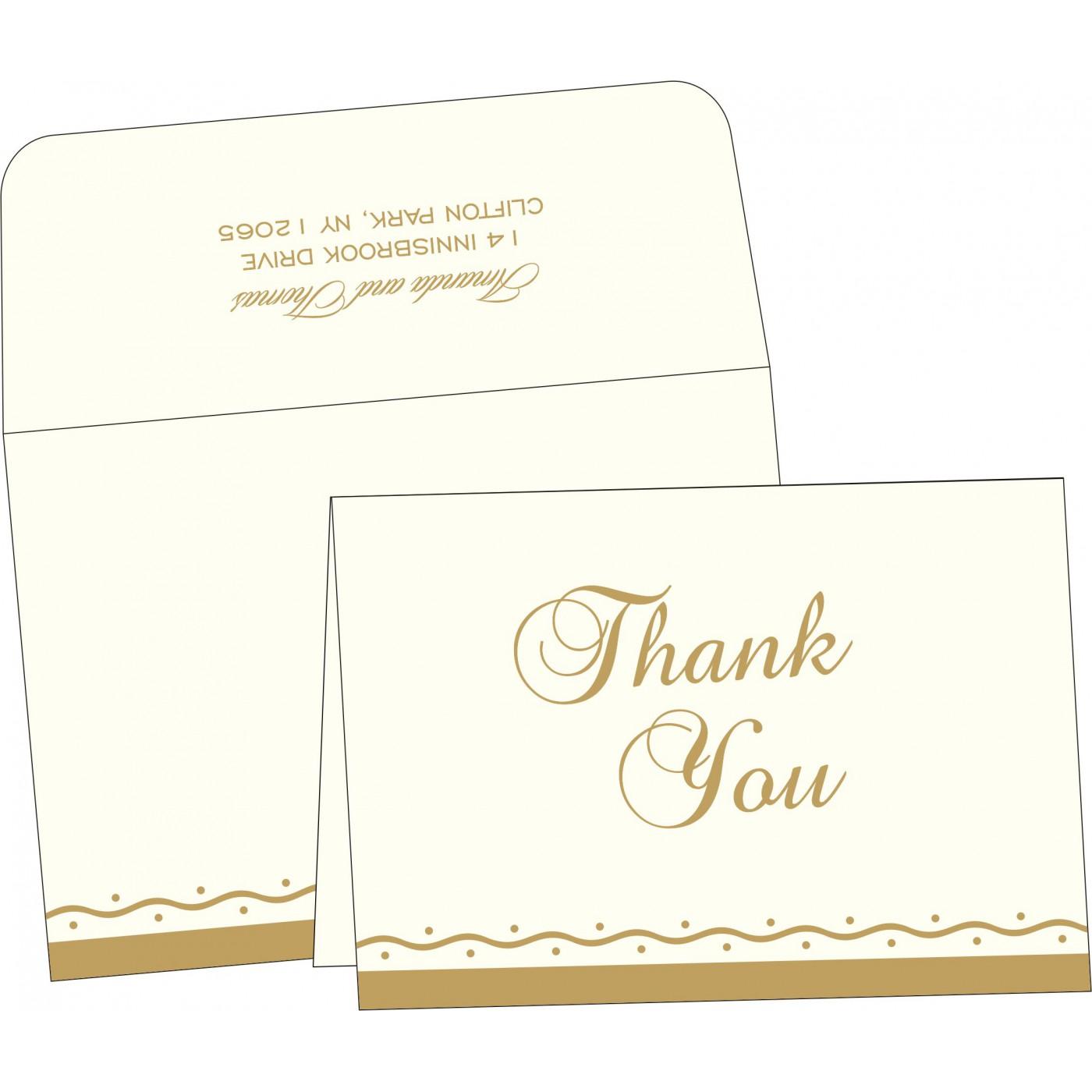 Thank You Cards : TYC-2103 - 123WeddingCards