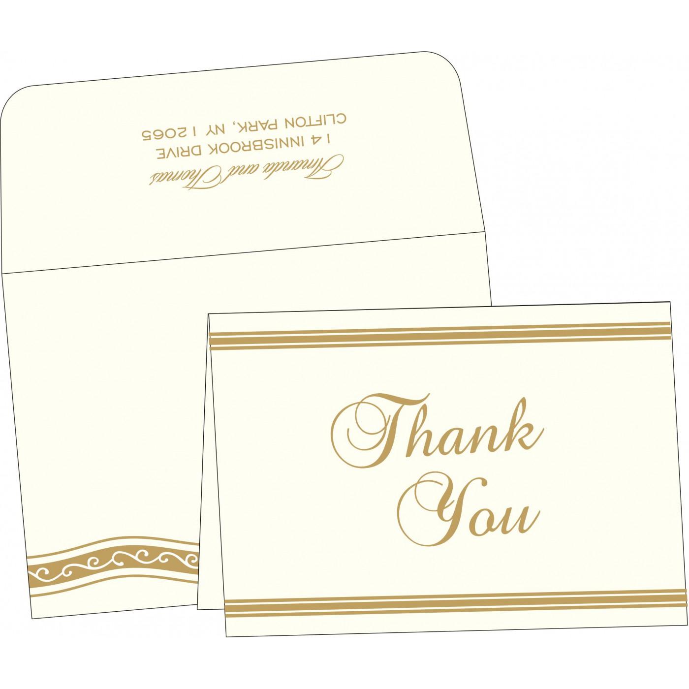 Thank You Cards : TYC-2169 - 123WeddingCards