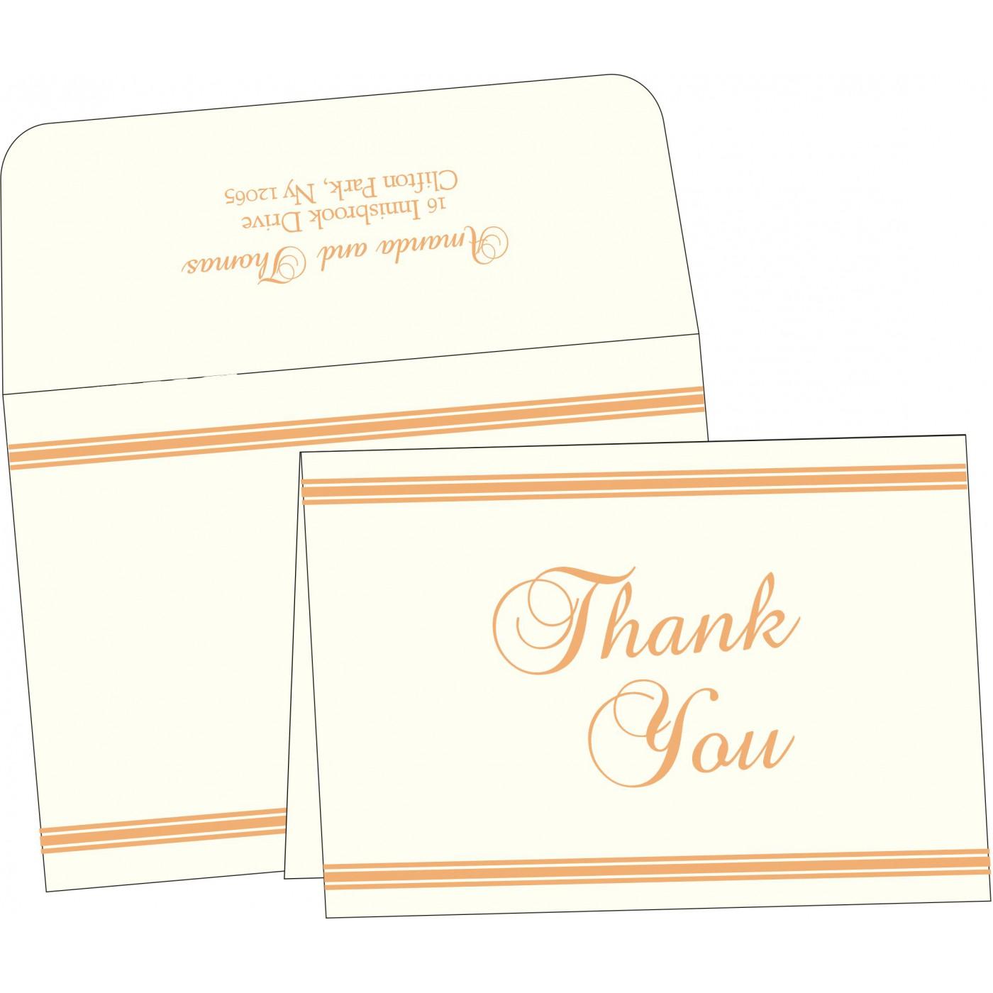 Thank You Cards : TYC-2203 - 123WeddingCards