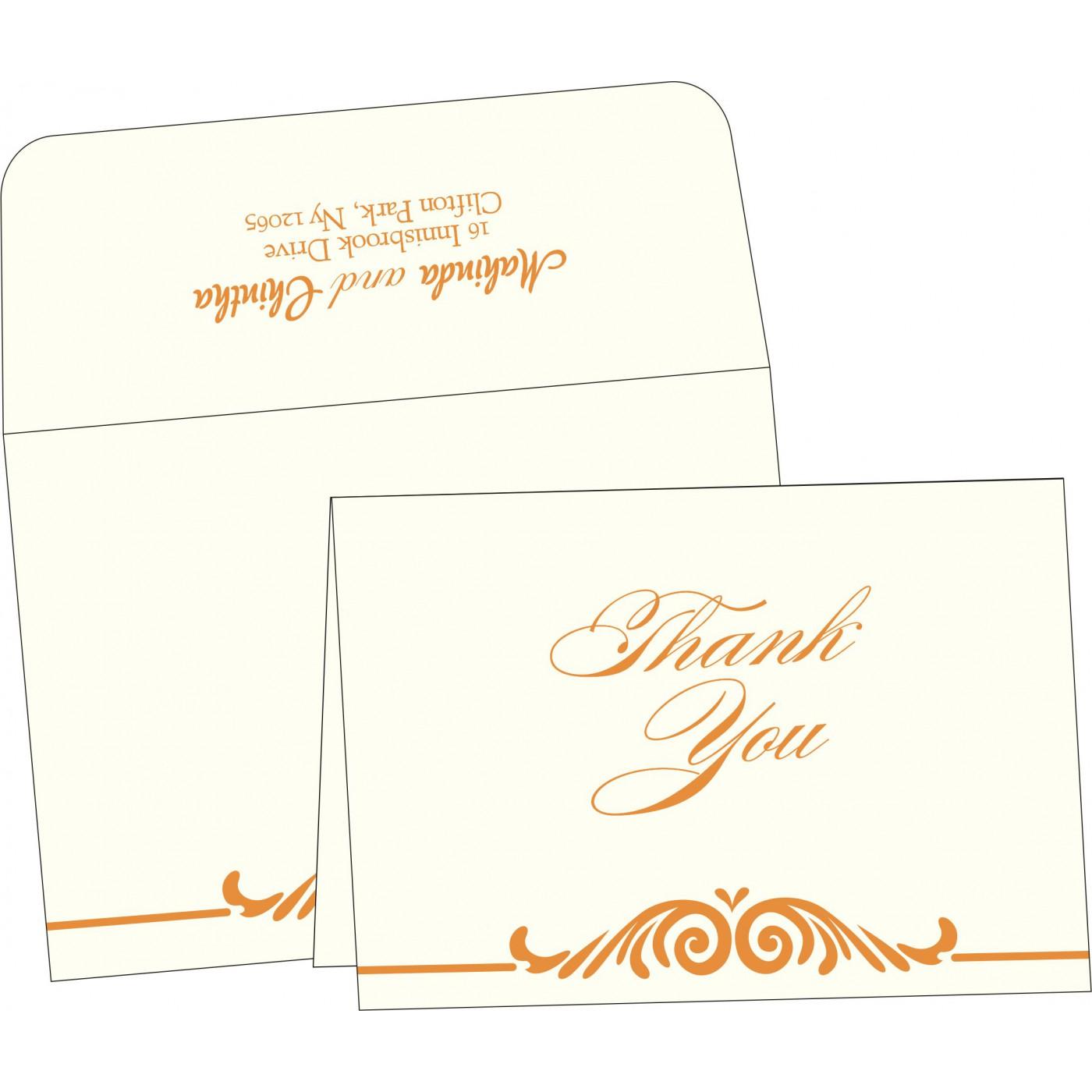 Thank You Cards : TYC-2206 - 123WeddingCards
