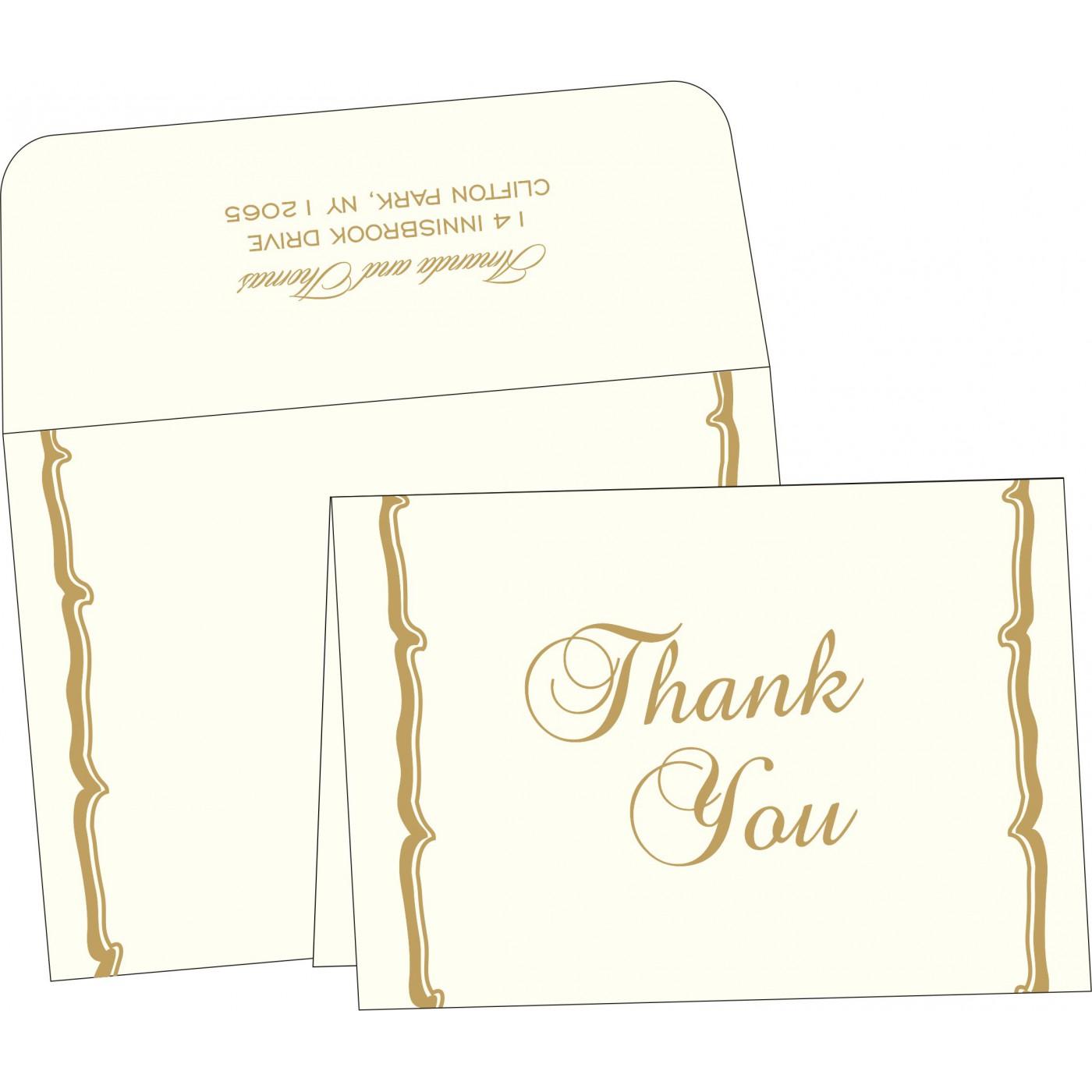 Thank You Cards : TYC-2219 - 123WeddingCards
