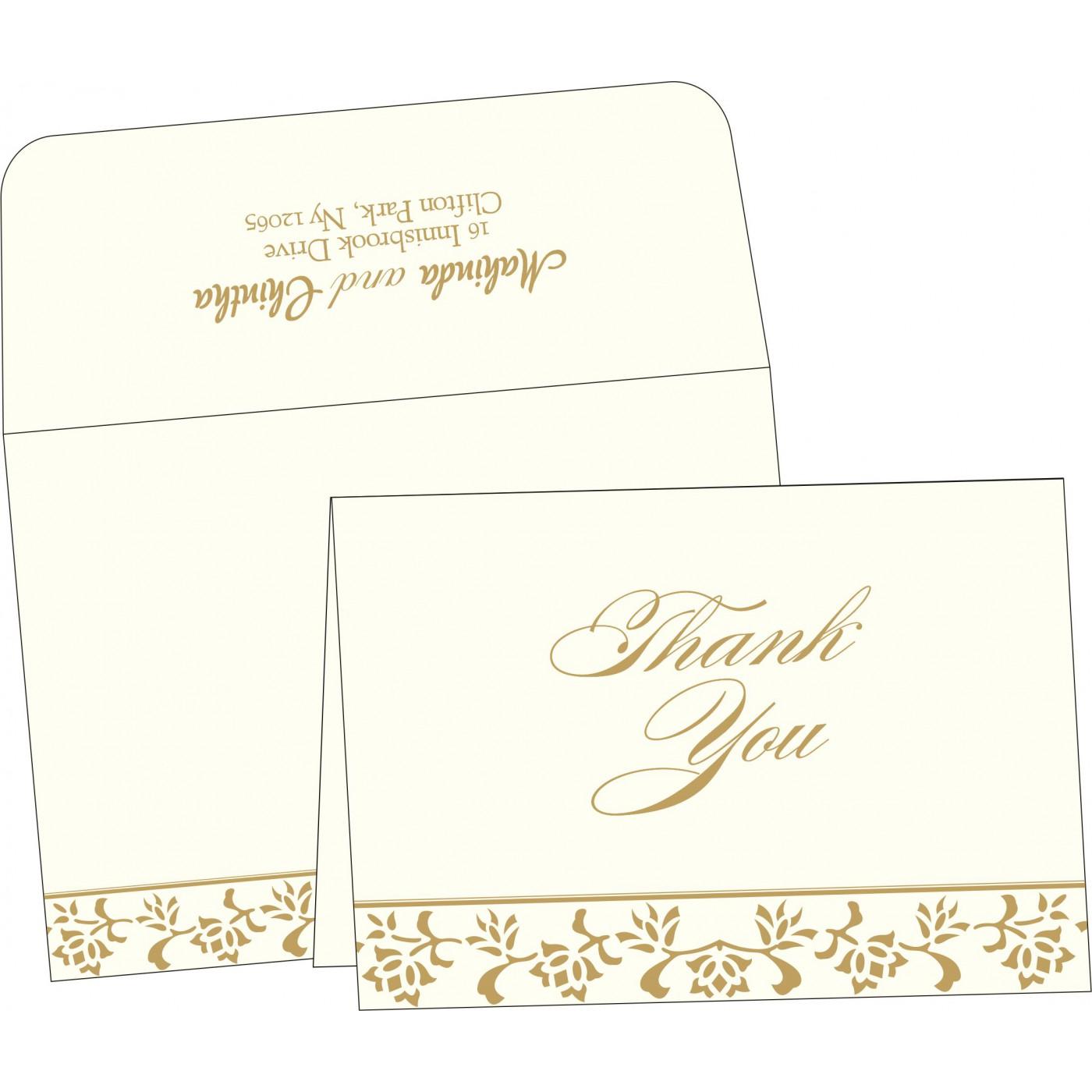 Thank You Cards : TYC-2238 - 123WeddingCards