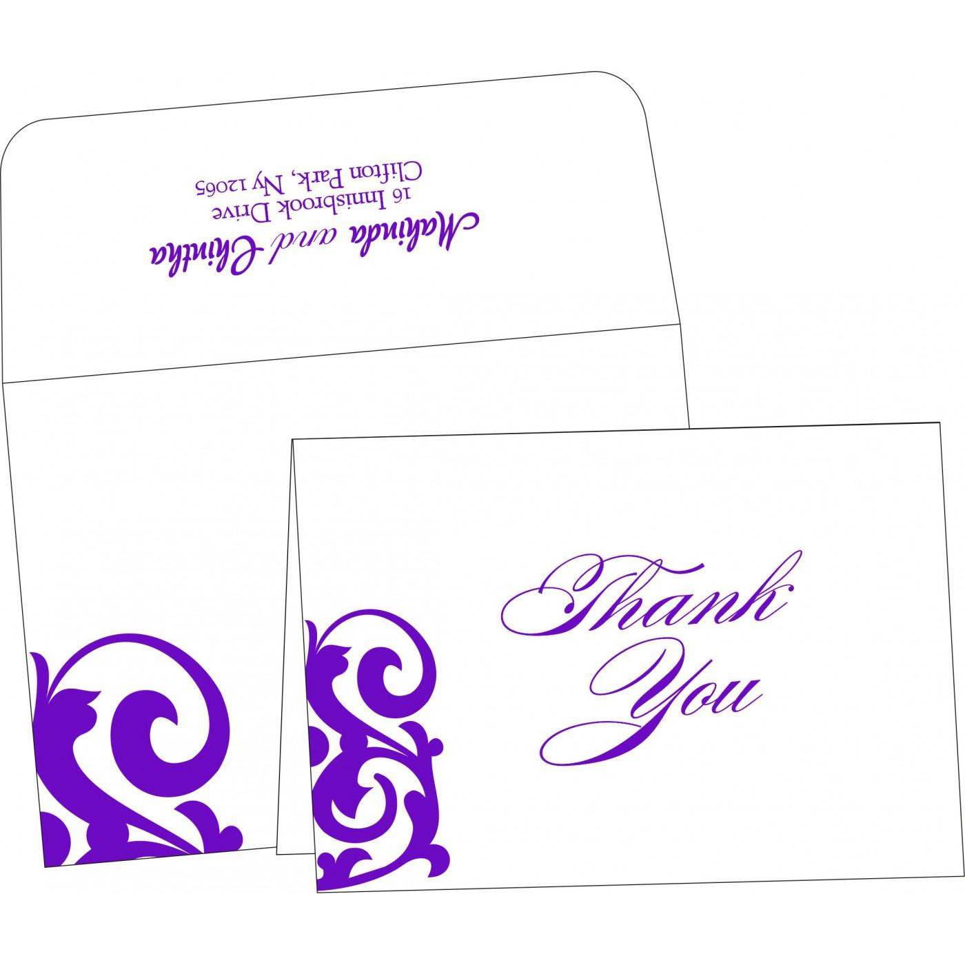 Thank You Cards : TYC-2278 - 123WeddingCards