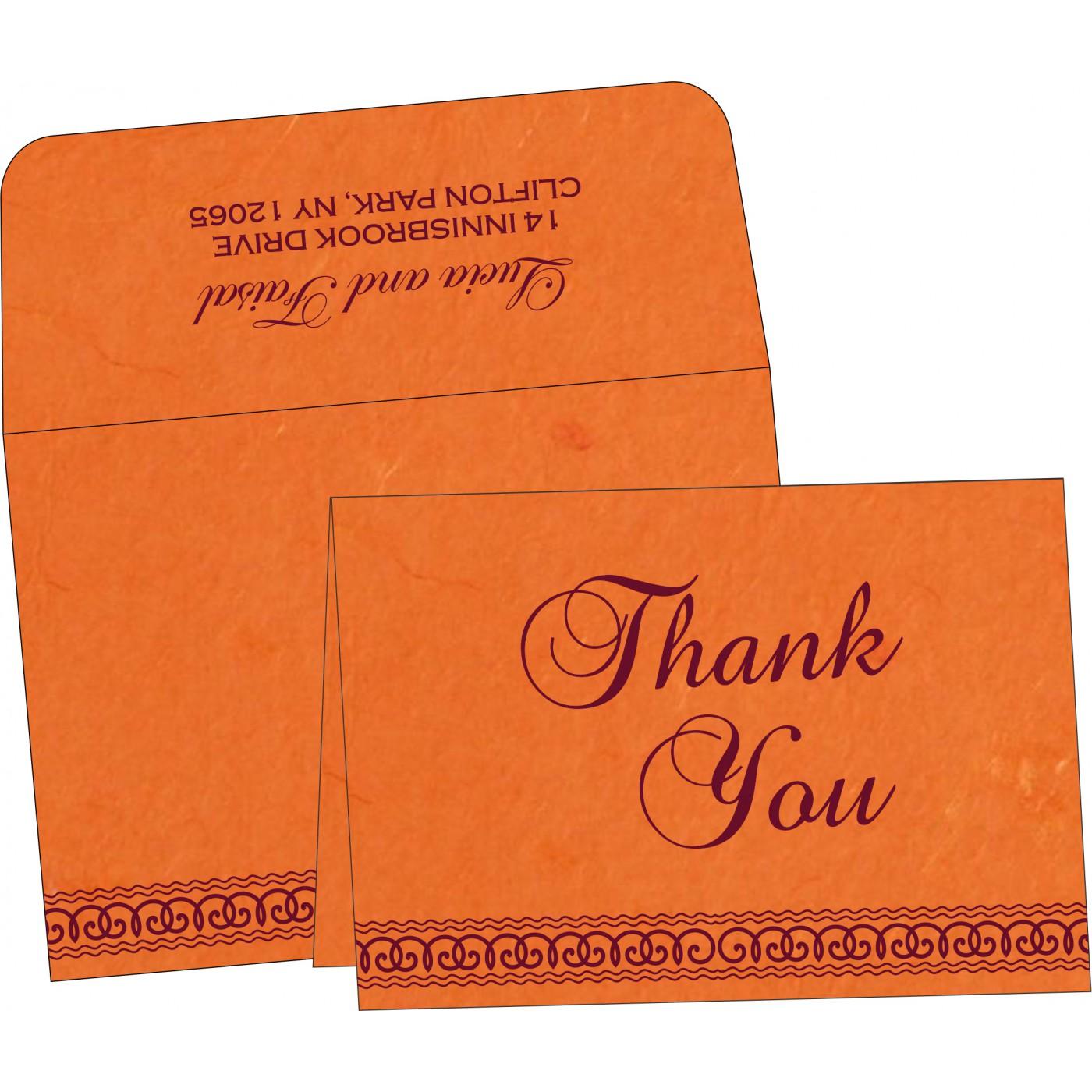 Thank You Cards : TYC-5002A - 123WeddingCards