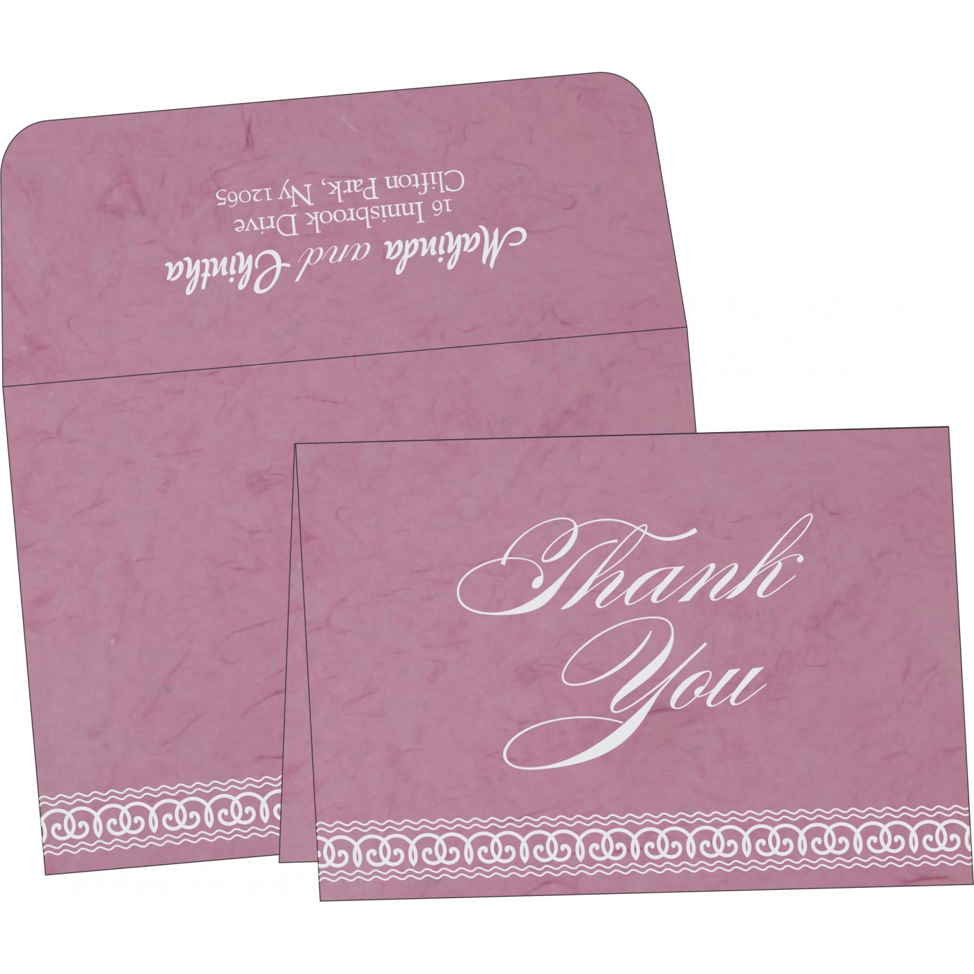Thank You Cards : TYC-5002E - 123WeddingCards