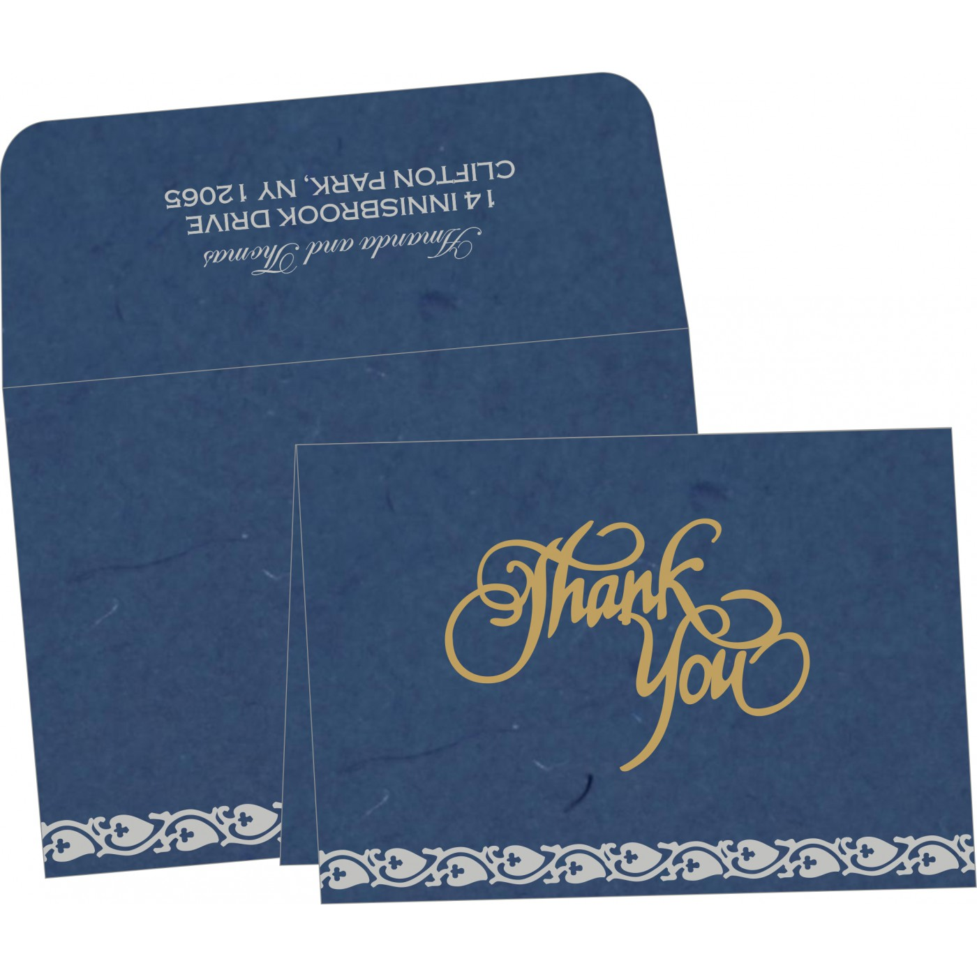 Thank You Cards : TYC-5005A - 123WeddingCards