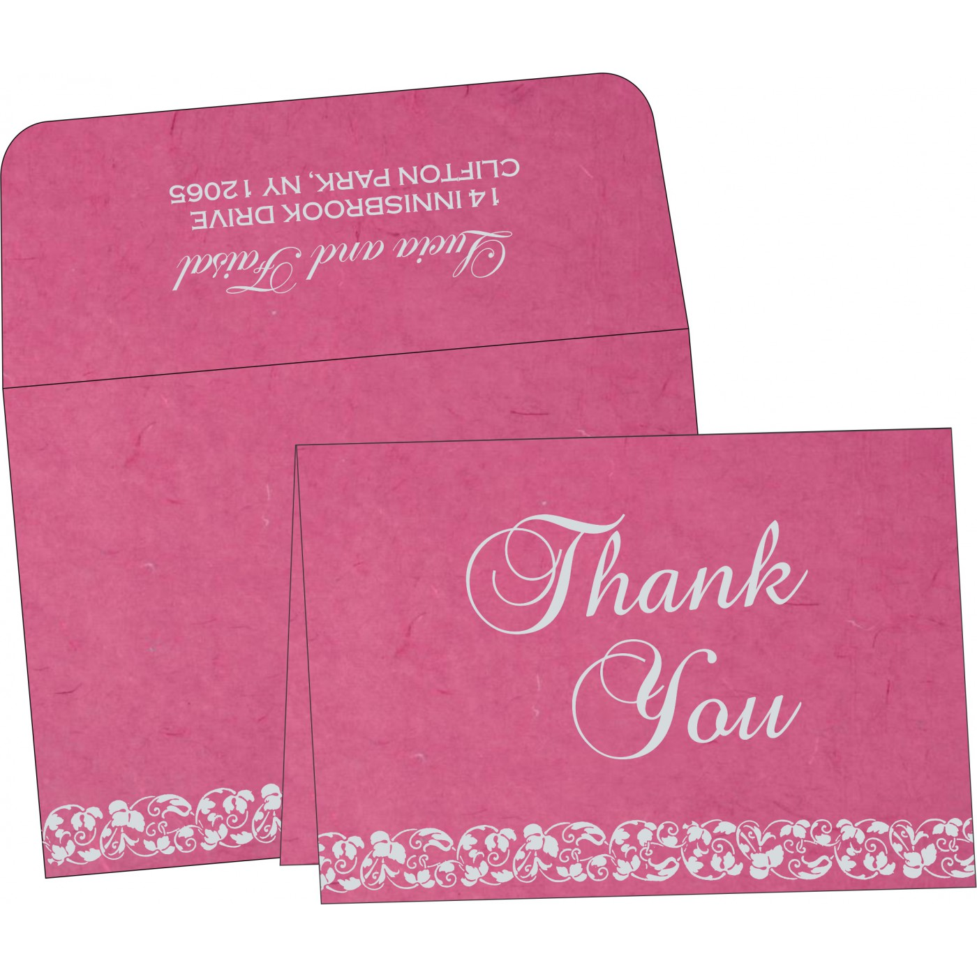 Thank You Cards : TYC-5006A - 123WeddingCards