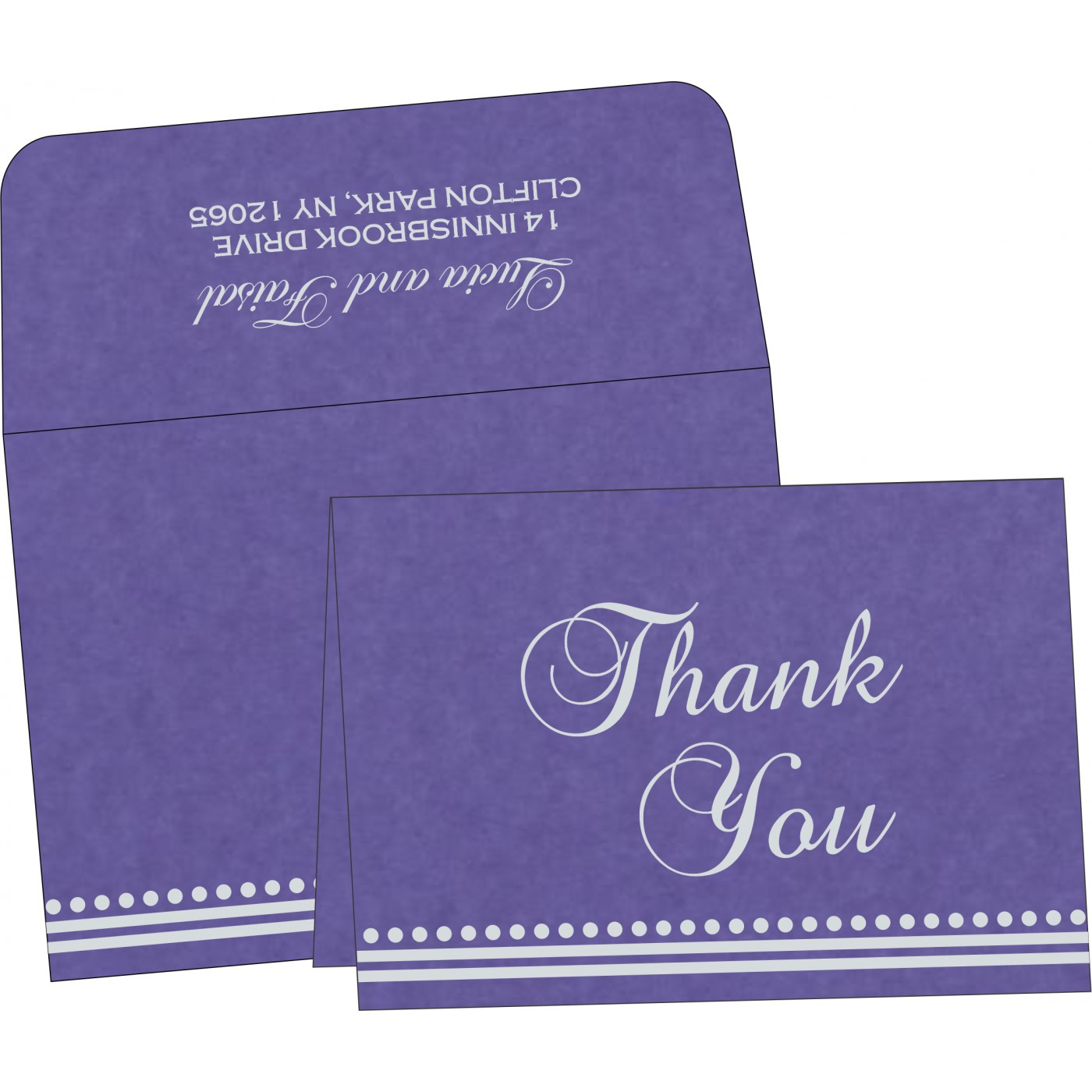 Thank You Cards : TYC-5011A - 123WeddingCards