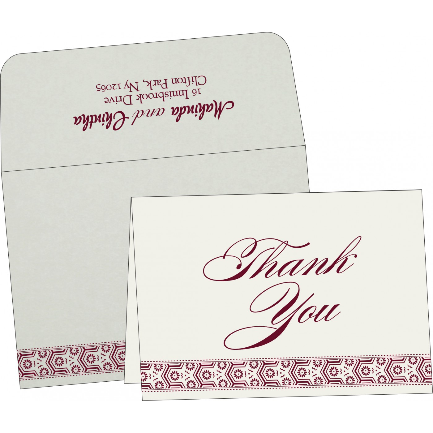 Thank You Cards : TYC-5014J - 123WeddingCards