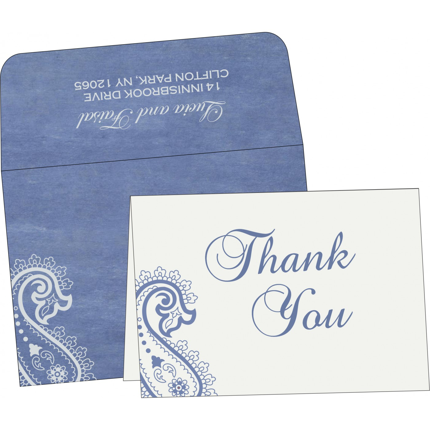 Thank You Cards : TYC-5015A - 123WeddingCards