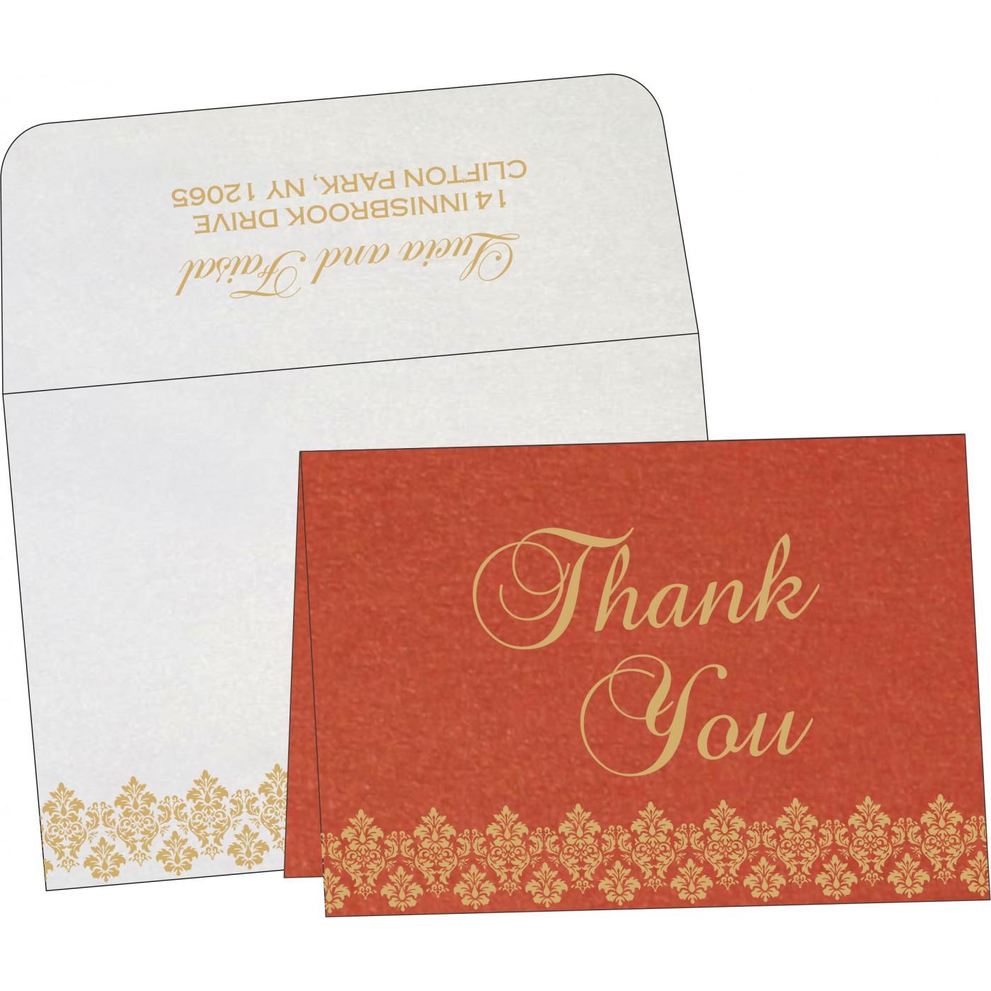 Thank You Cards : TYC-5016A - 123WeddingCards