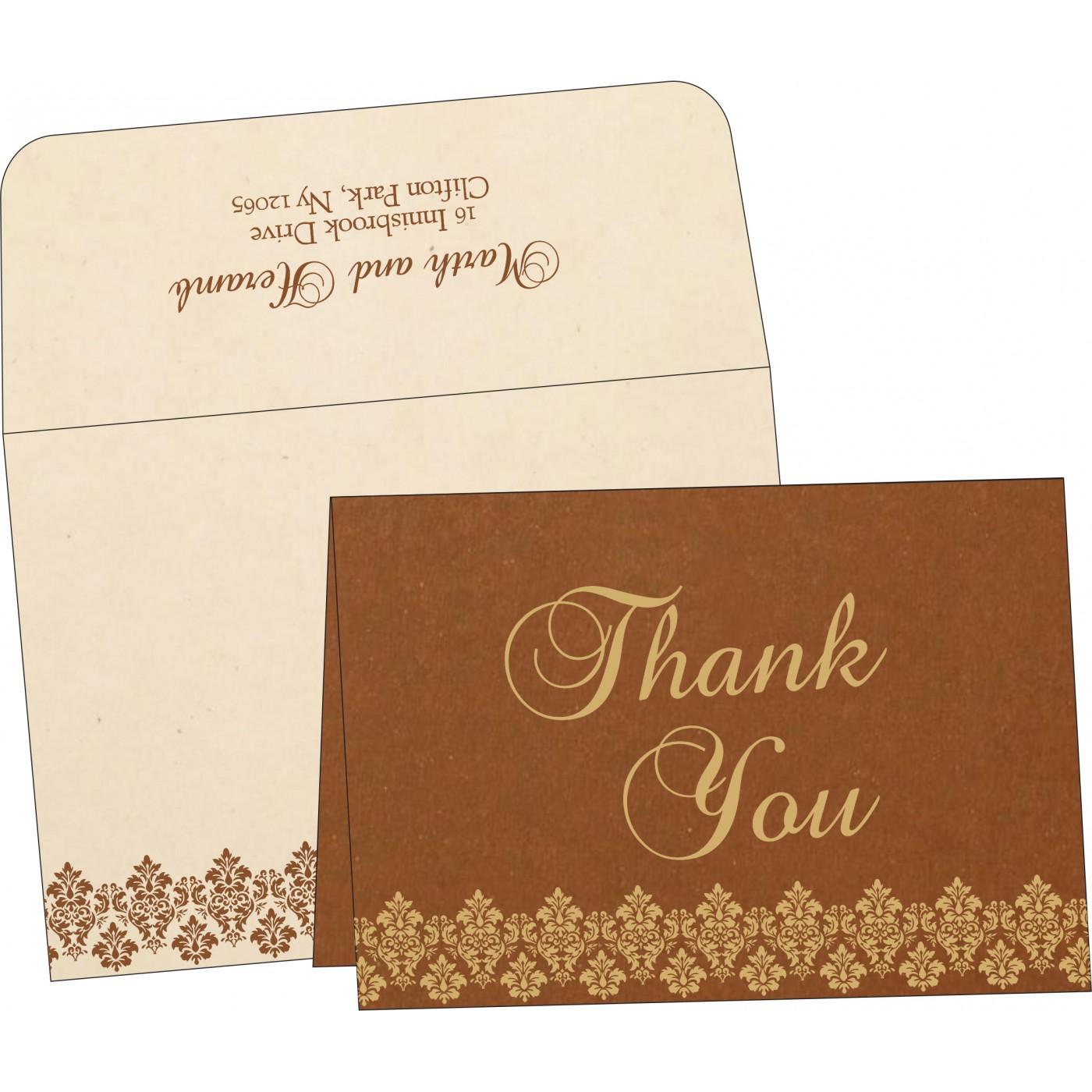 Thank You Cards : TYC-5016C - 123WeddingCards