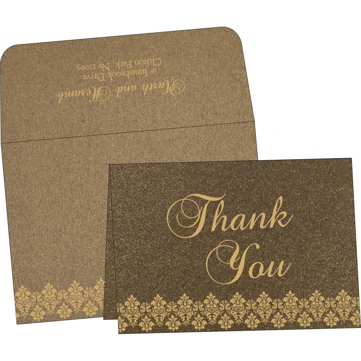 Thank You Cards : TYC-5016I - 123WeddingCards