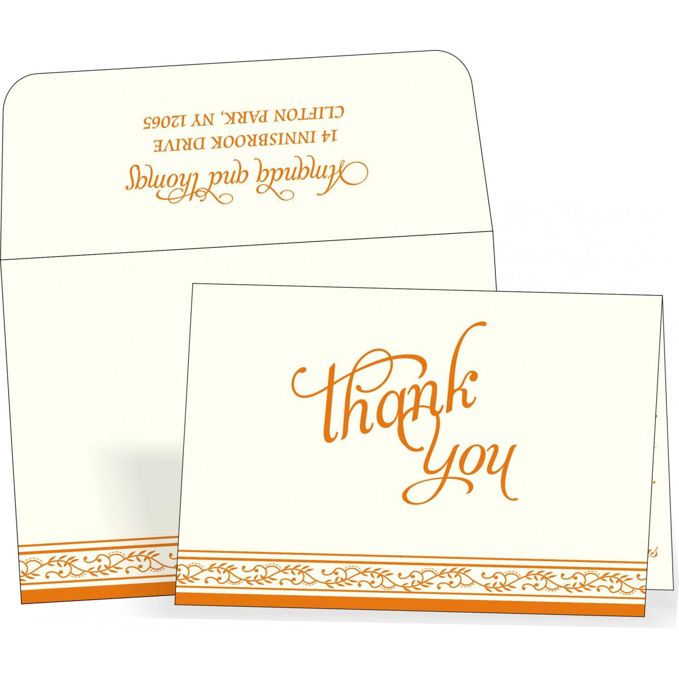 Thank You Cards : TYC-8202B - 123WeddingCards