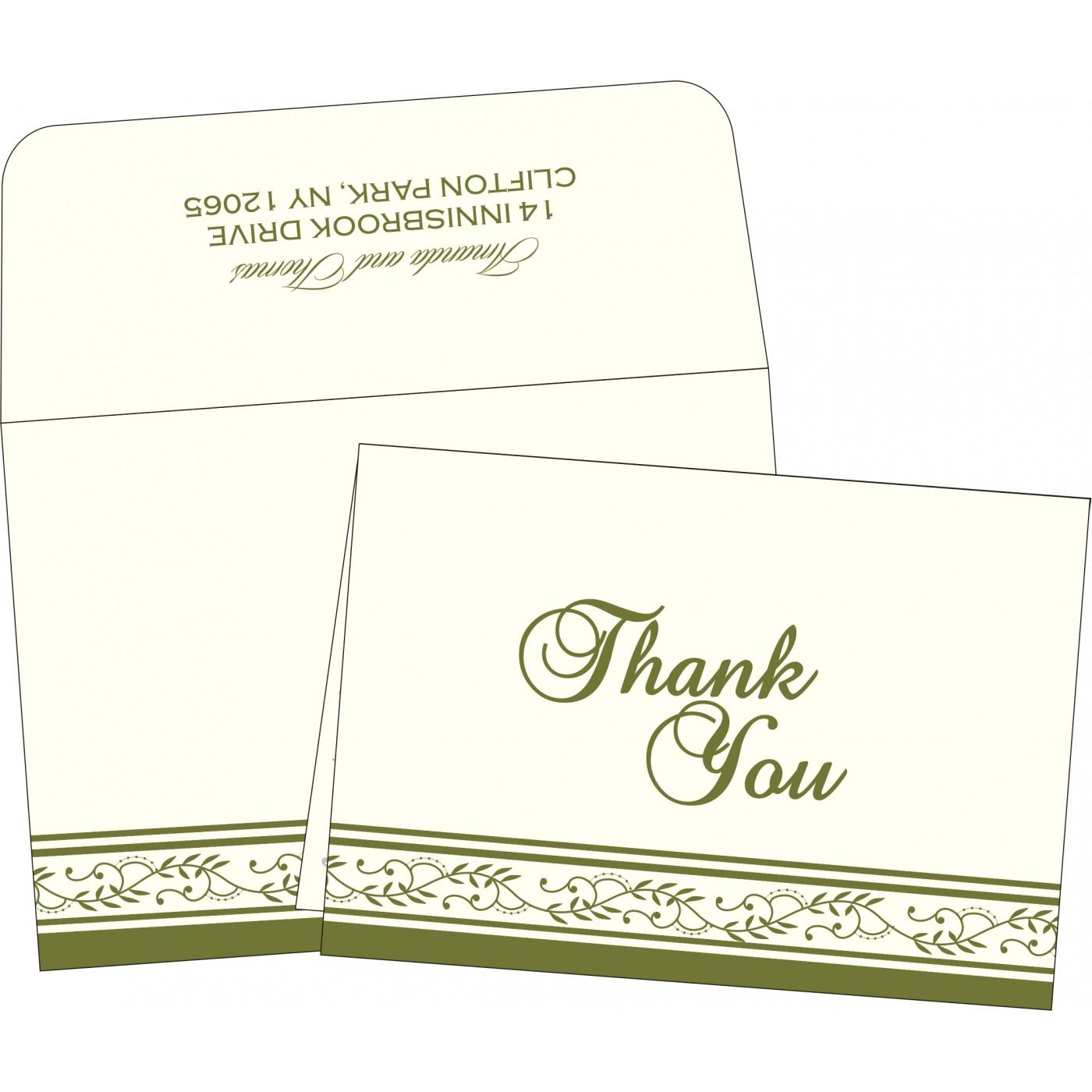 Thank You Cards : TYC-8202C - 123WeddingCards