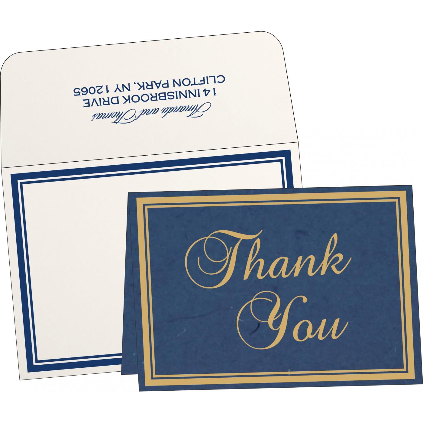 Thank You Cards : TYC-8203B - 123WeddingCards