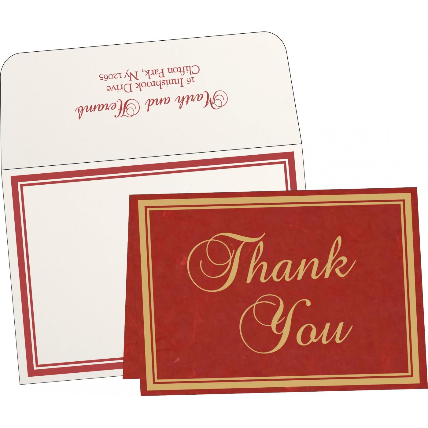 Thank You Cards : TYC-8203C - 123WeddingCards