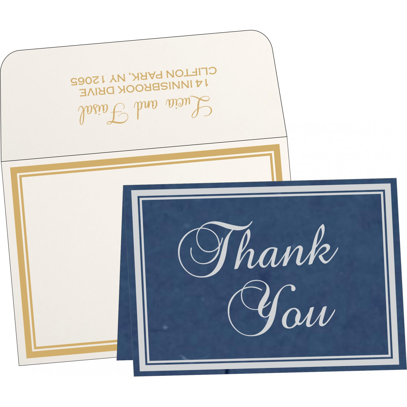 Thank You Cards : TYC-8203F - 123WeddingCards