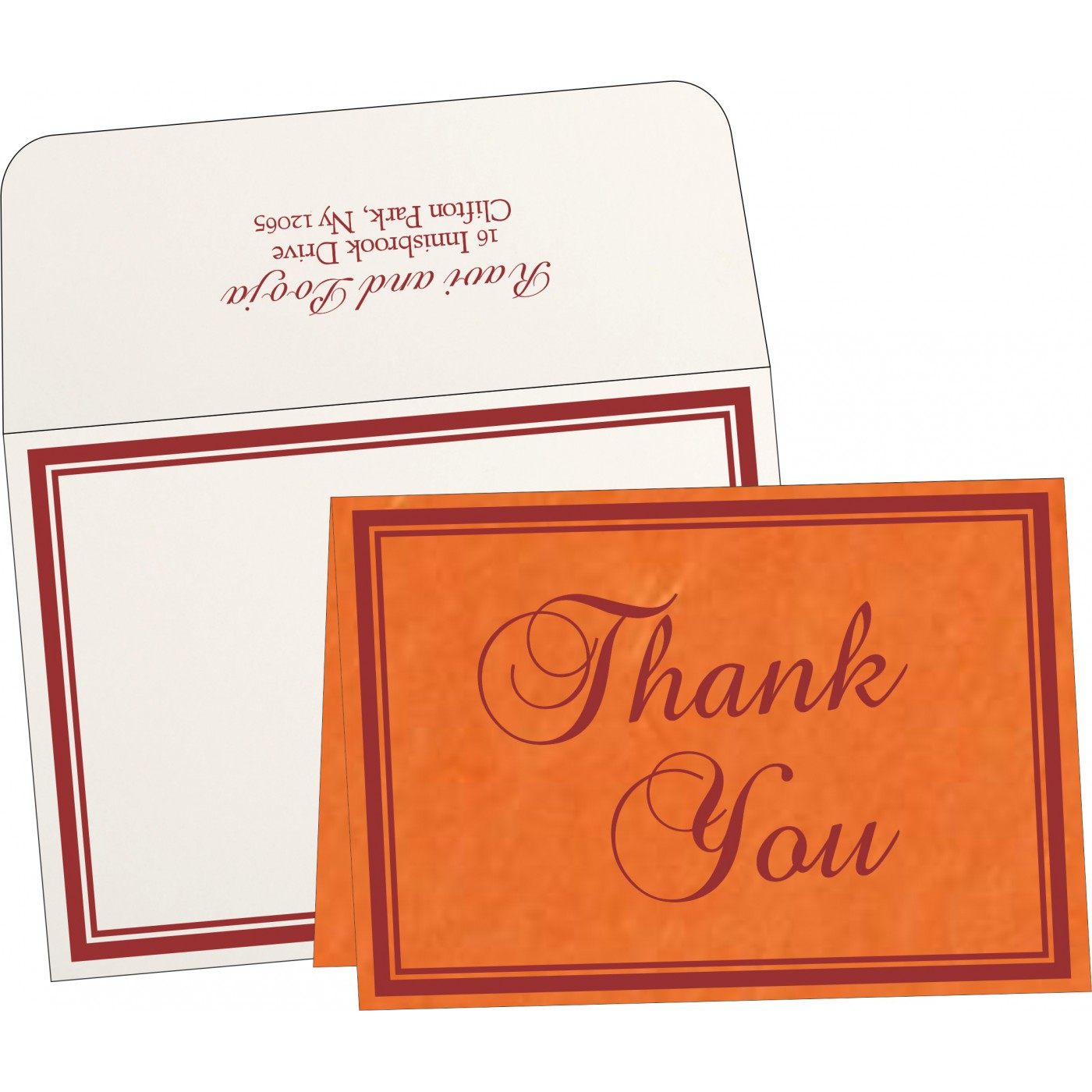 Thank You Cards : TYC-8203J - 123WeddingCards