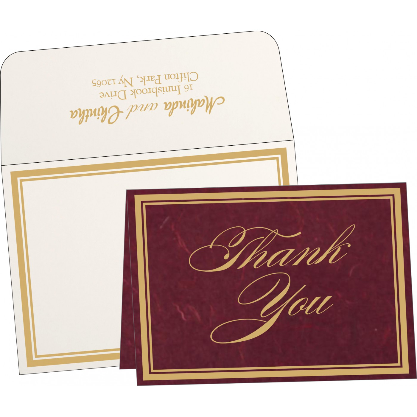Thank You Cards : TYC-8203K - 123WeddingCards