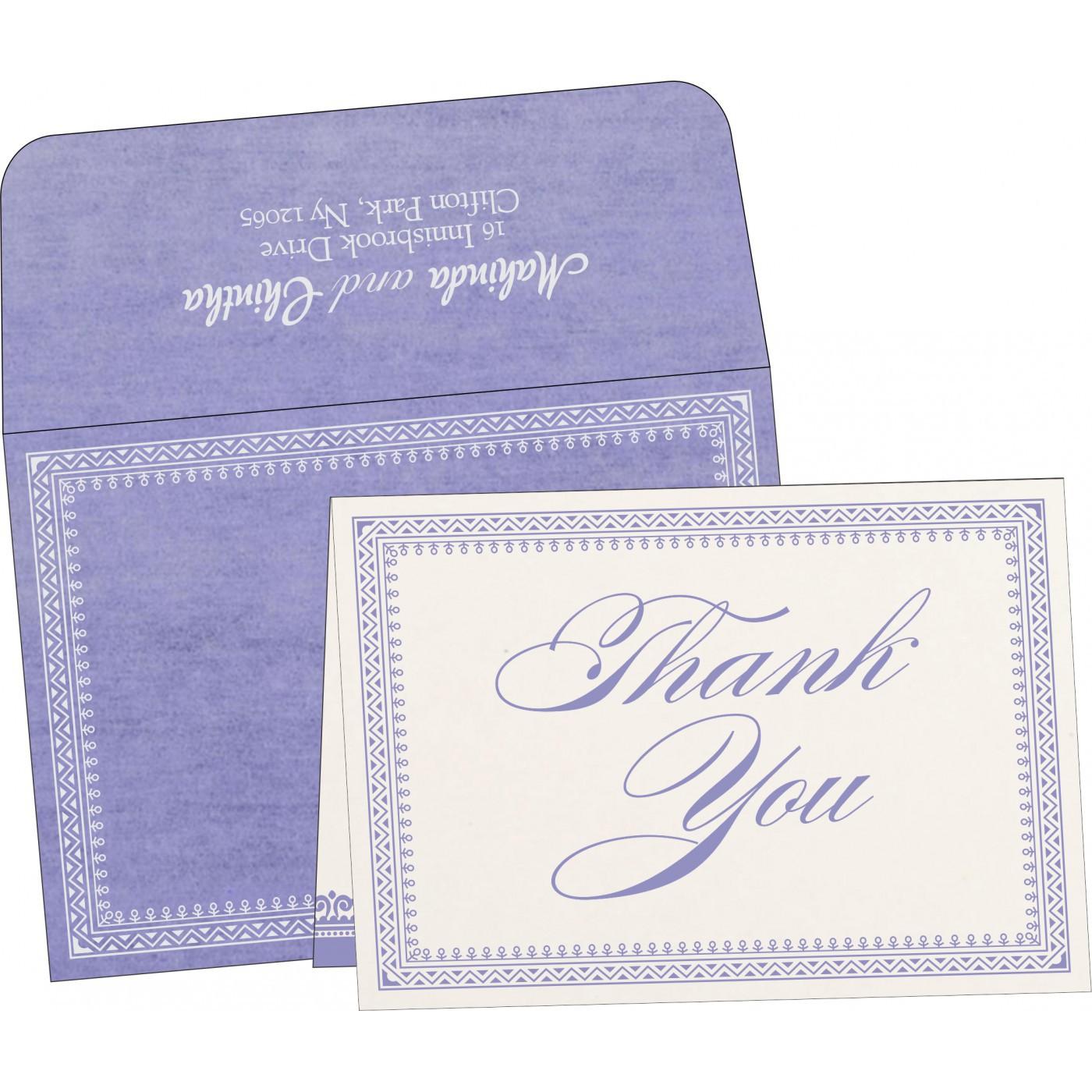 Thank You Cards : TYC-8205F - 123WeddingCards