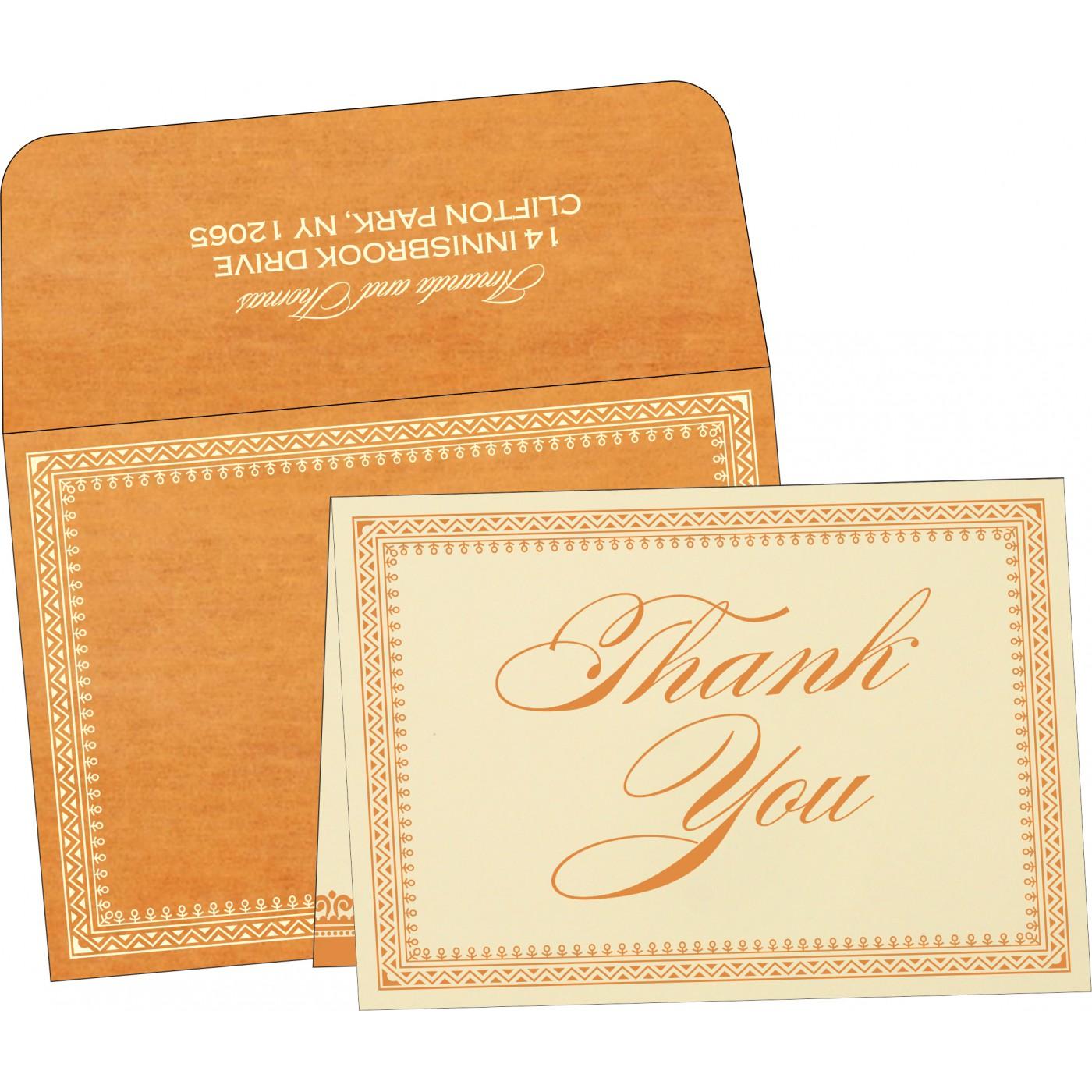 Thank You Cards : TYC-8205H - 123WeddingCards