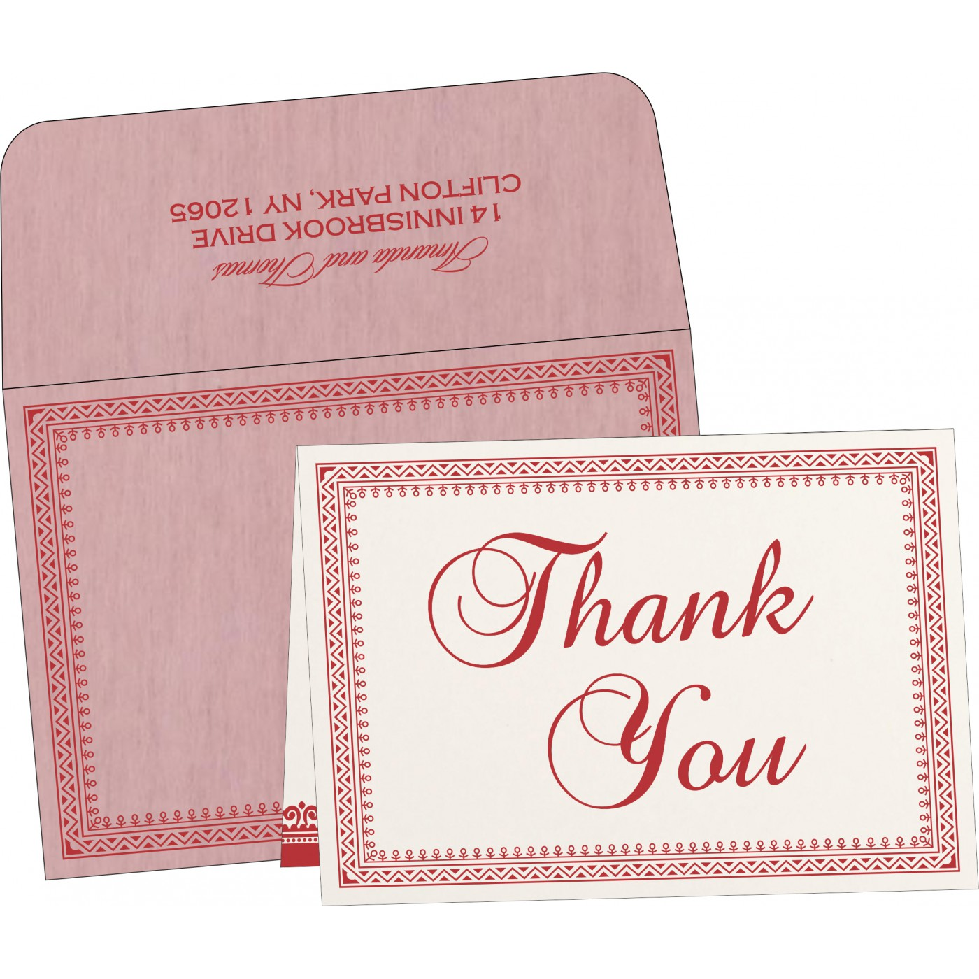 Thank You Cards : TYC-8205J - 123WeddingCards