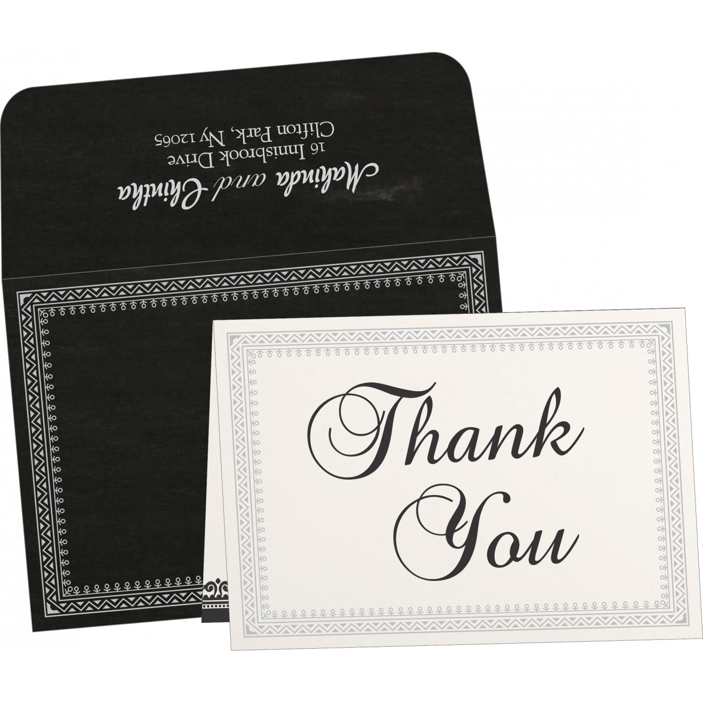 Thank You Cards : TYC-8205L - 123WeddingCards
