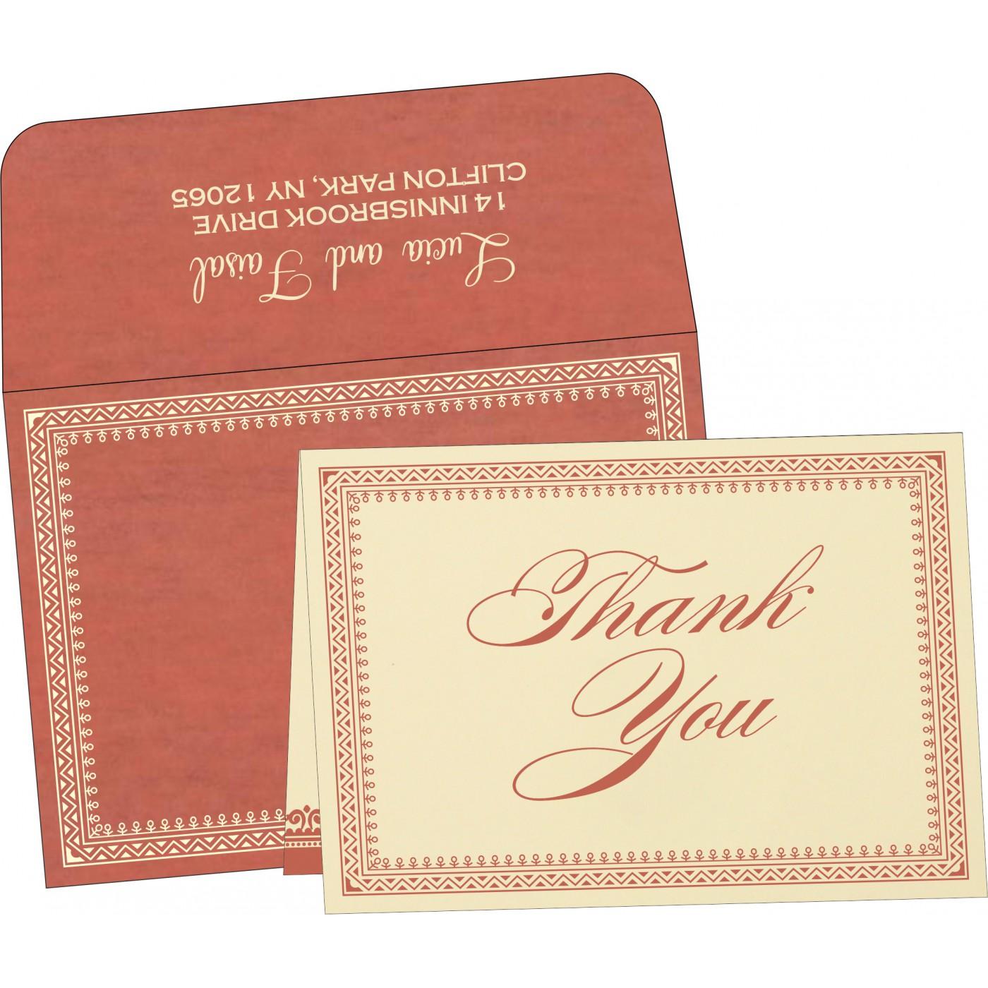 Thank You Cards : TYC-8205M - 123WeddingCards