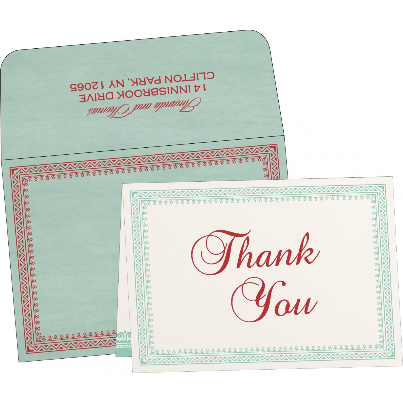 Thank You Cards : TYC-8205N - 123WeddingCards