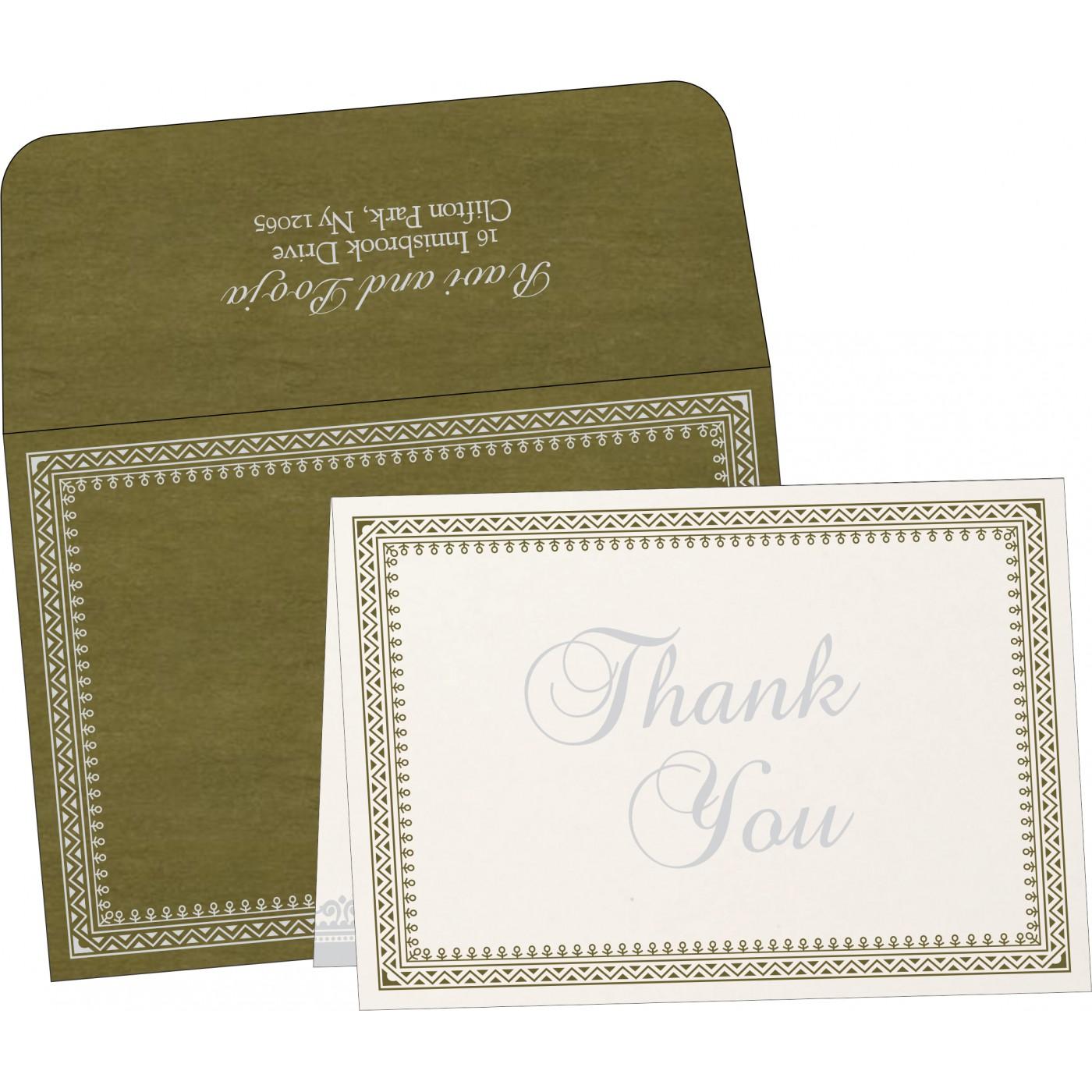 Thank You Cards : TYC-8205Q - 123WeddingCards