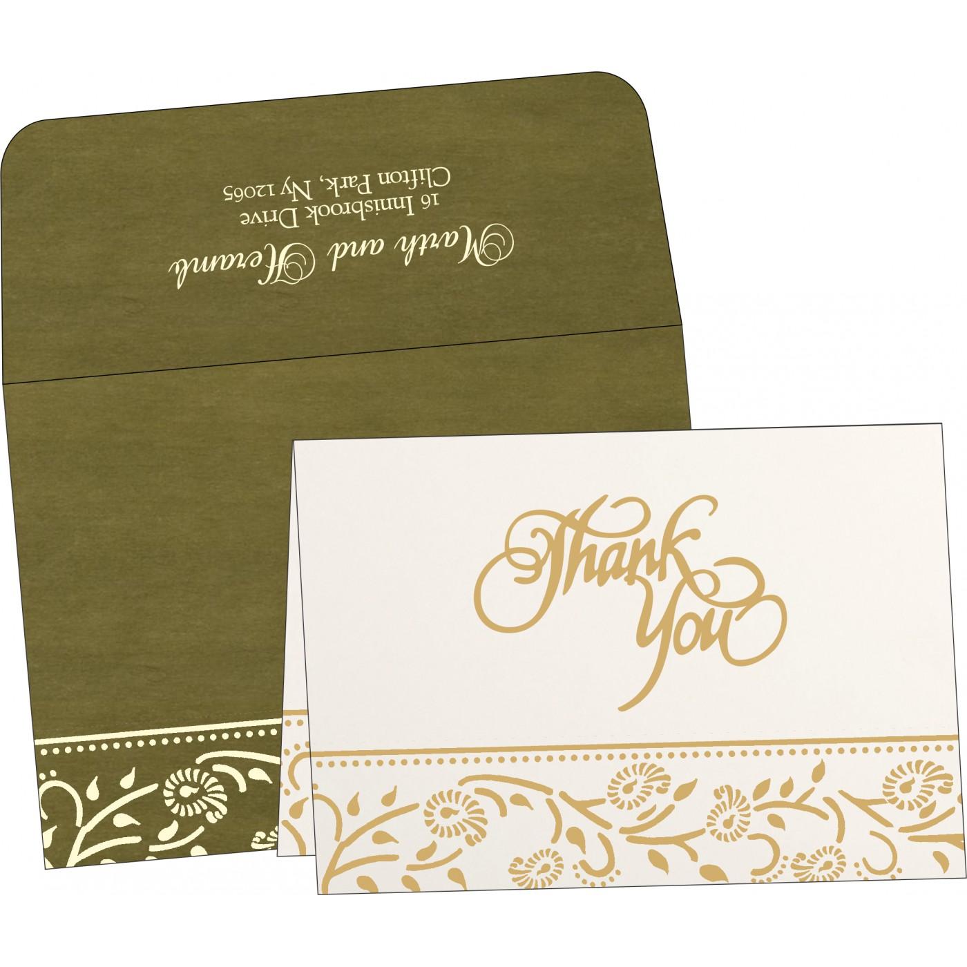 Thank You Cards : TYC-8206D - 123WeddingCards