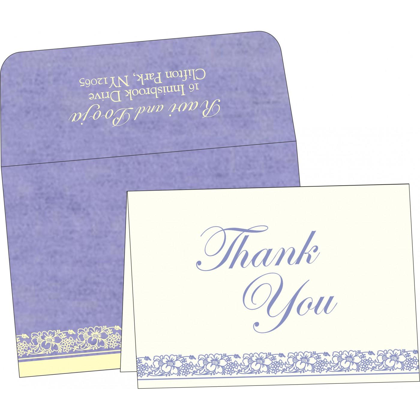 Thank You Cards : TYC-8207D - 123WeddingCards