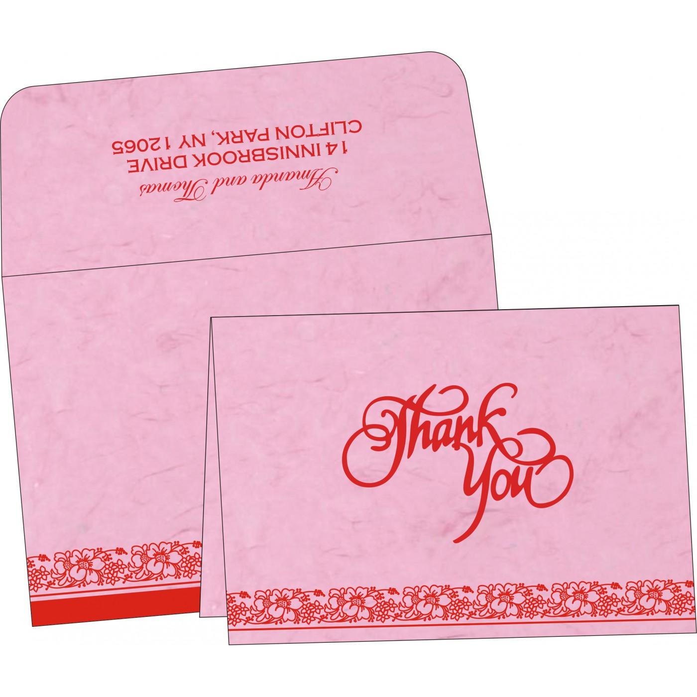 Thank You Cards : TYC-8207K - 123WeddingCards