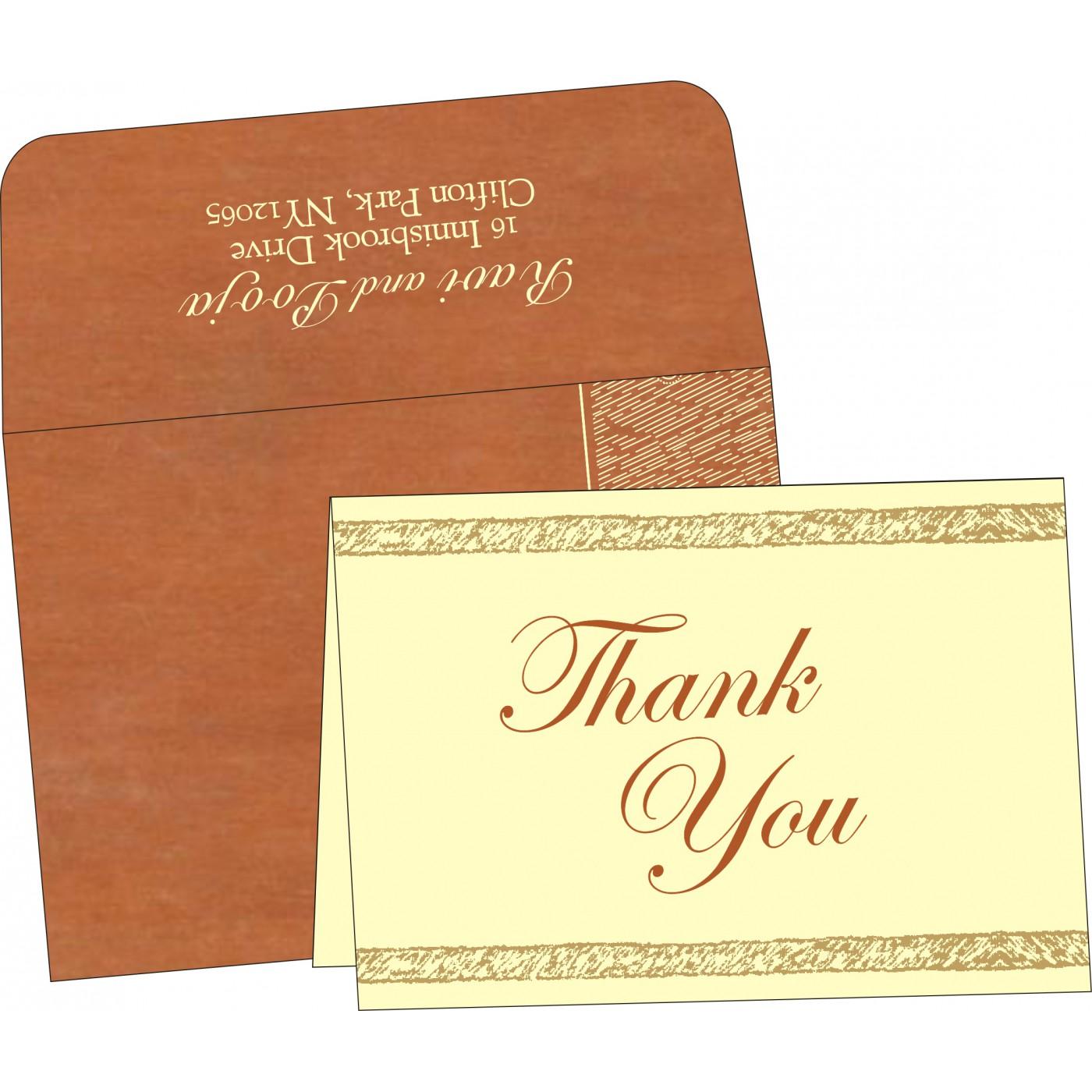 Thank You Cards : TYC-8209D - 123WeddingCards