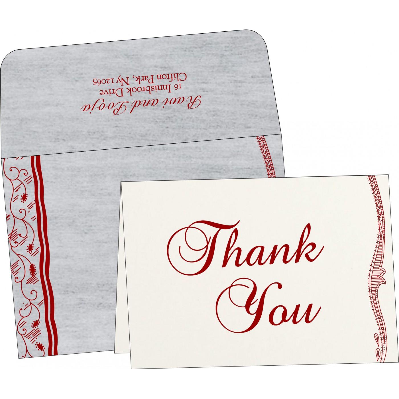 Thank You Cards : TYC-8210J - 123WeddingCards