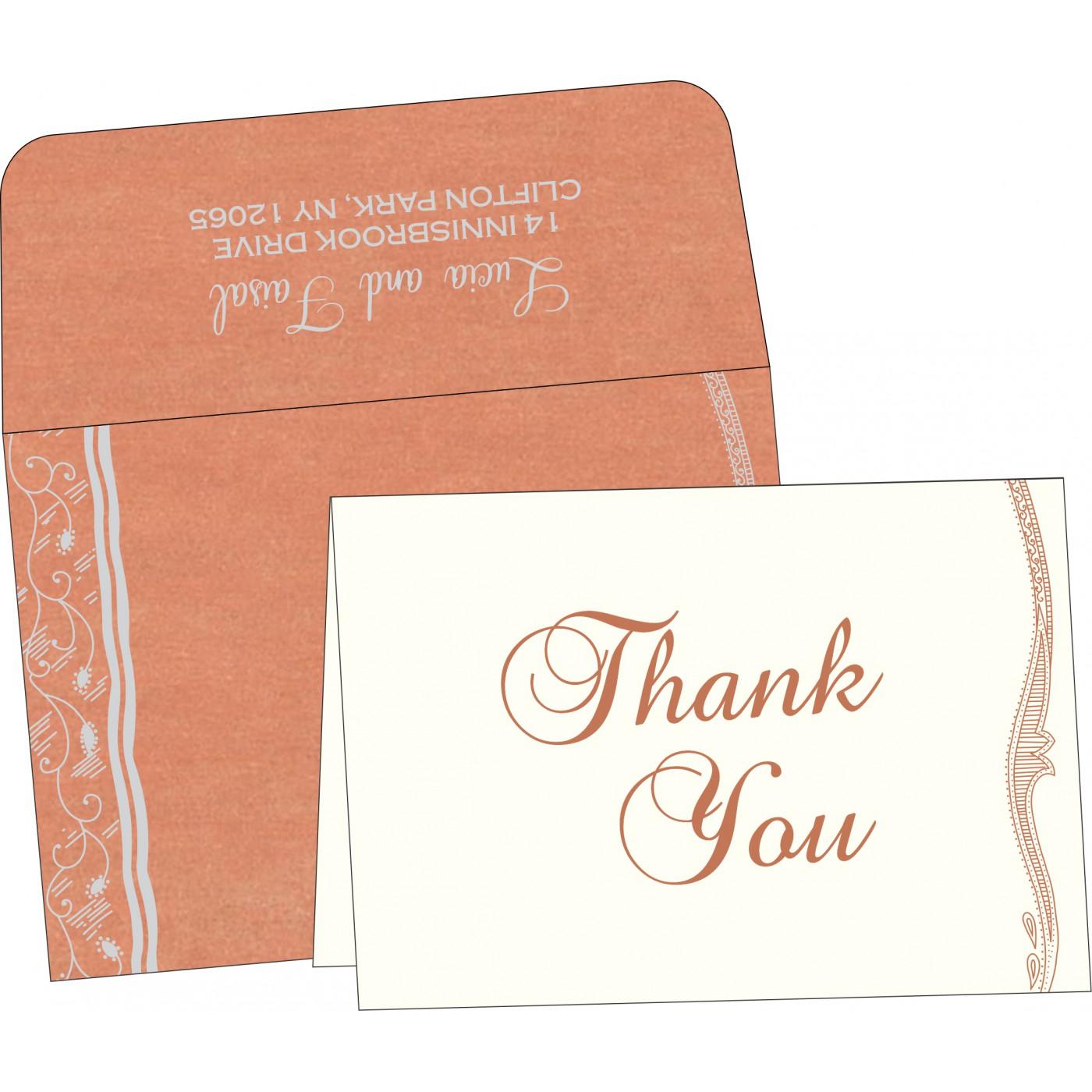 Thank You Cards : TYC-8210M - 123WeddingCards