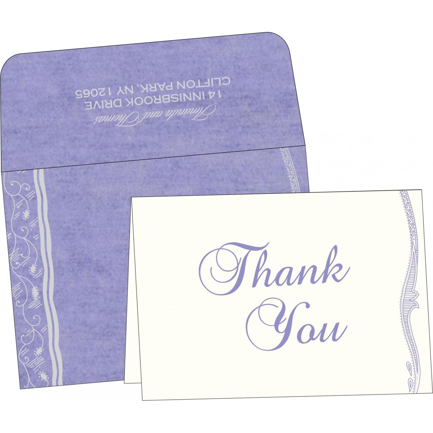 Thank You Cards : TYC-8210N - 123WeddingCards