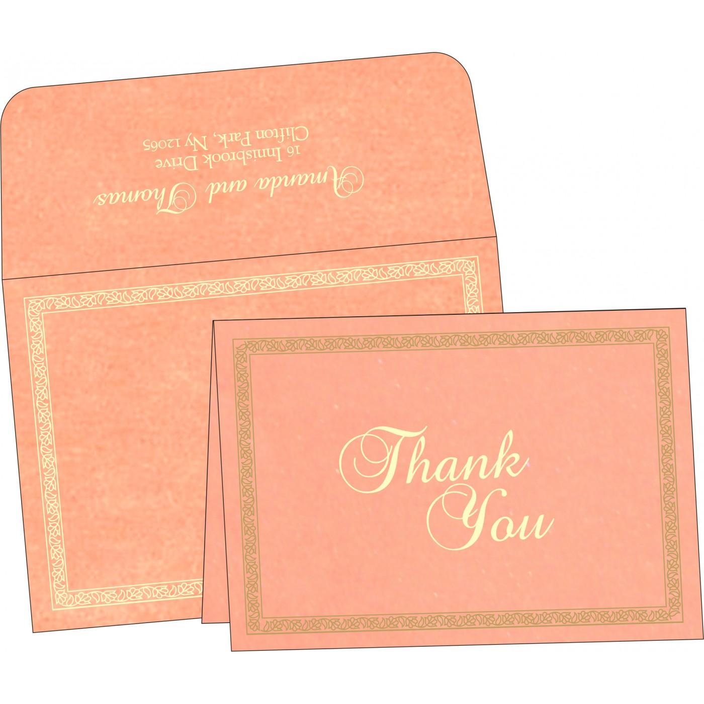 Thank You Cards : TYC-8211J - 123WeddingCards