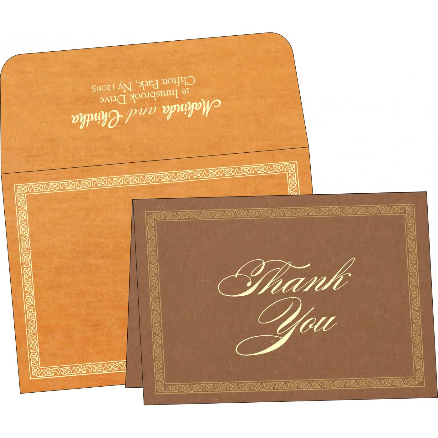 Thank You Cards : TYC-8211L - 123WeddingCards