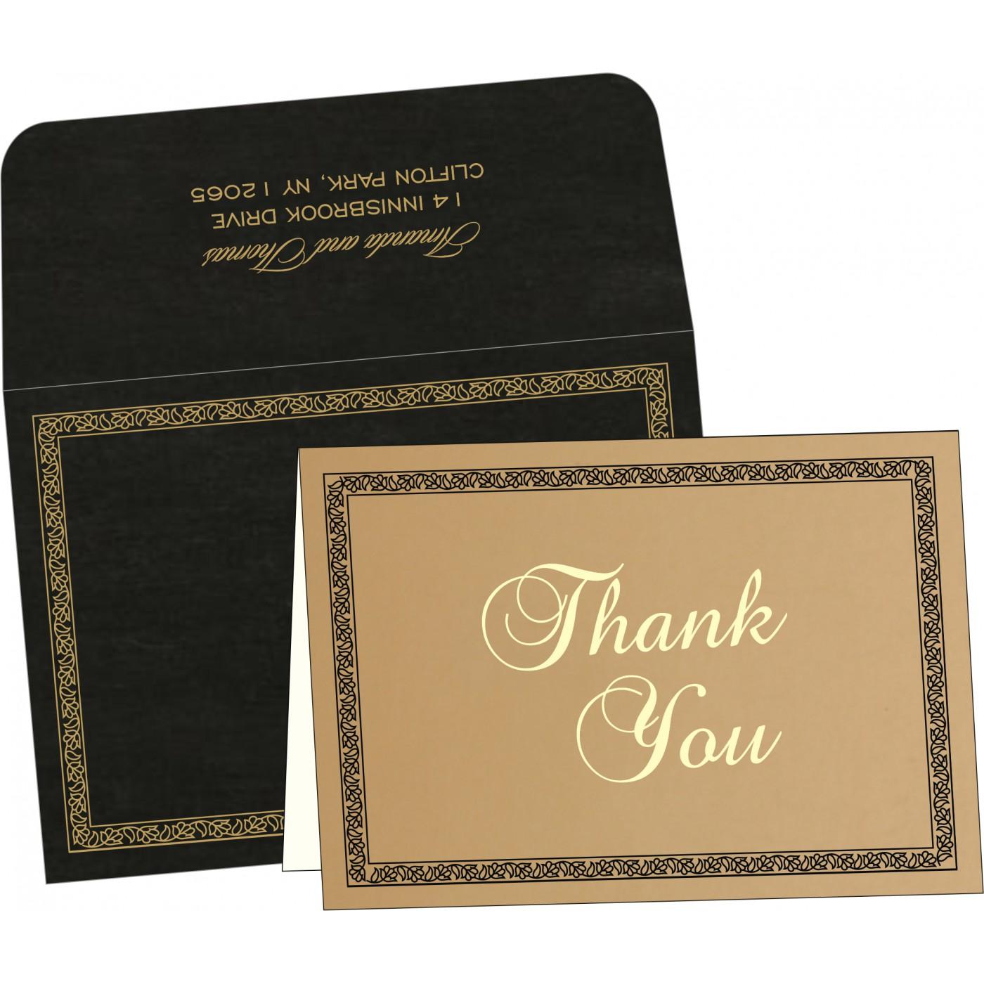 Thank You Cards : TYC-8211N - 123WeddingCards
