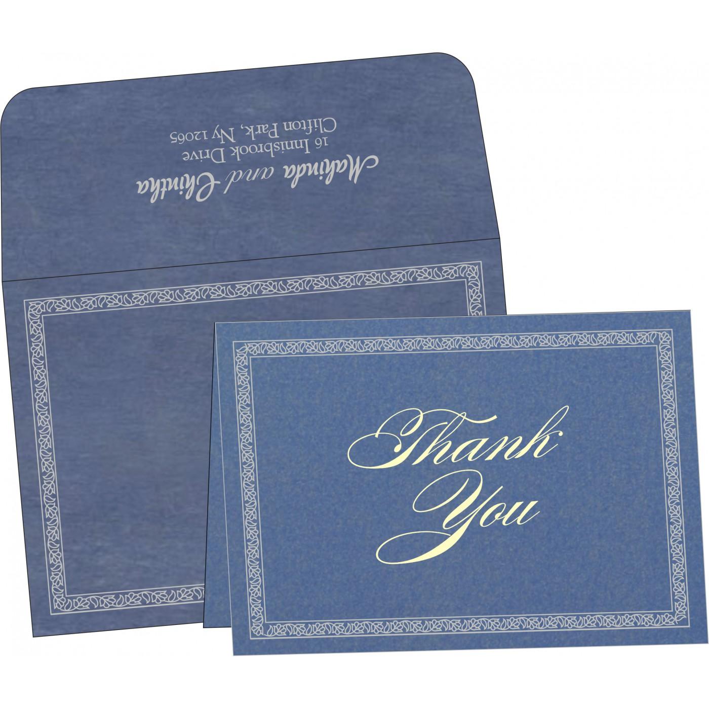 Thank You Cards : TYC-8211P - 123WeddingCards