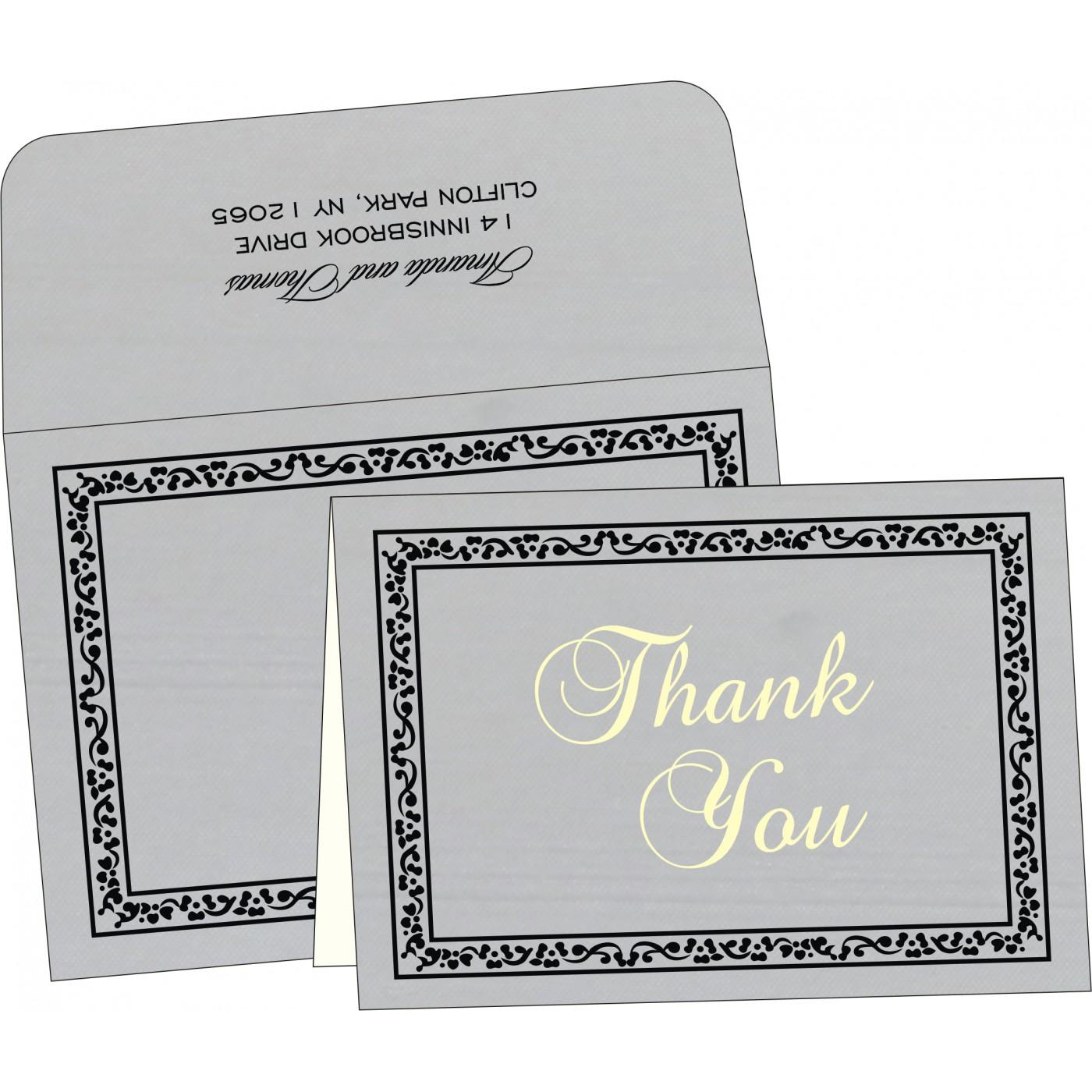 Thank You Cards : TYC-8214N - 123WeddingCards