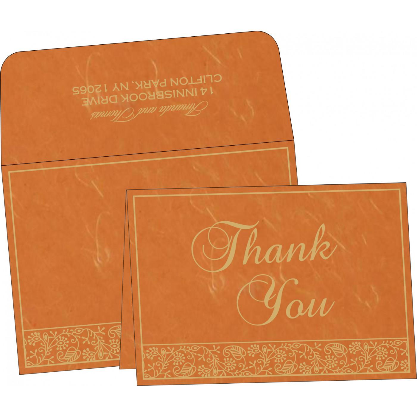 Thank You Cards : TYC-8215L - 123WeddingCards