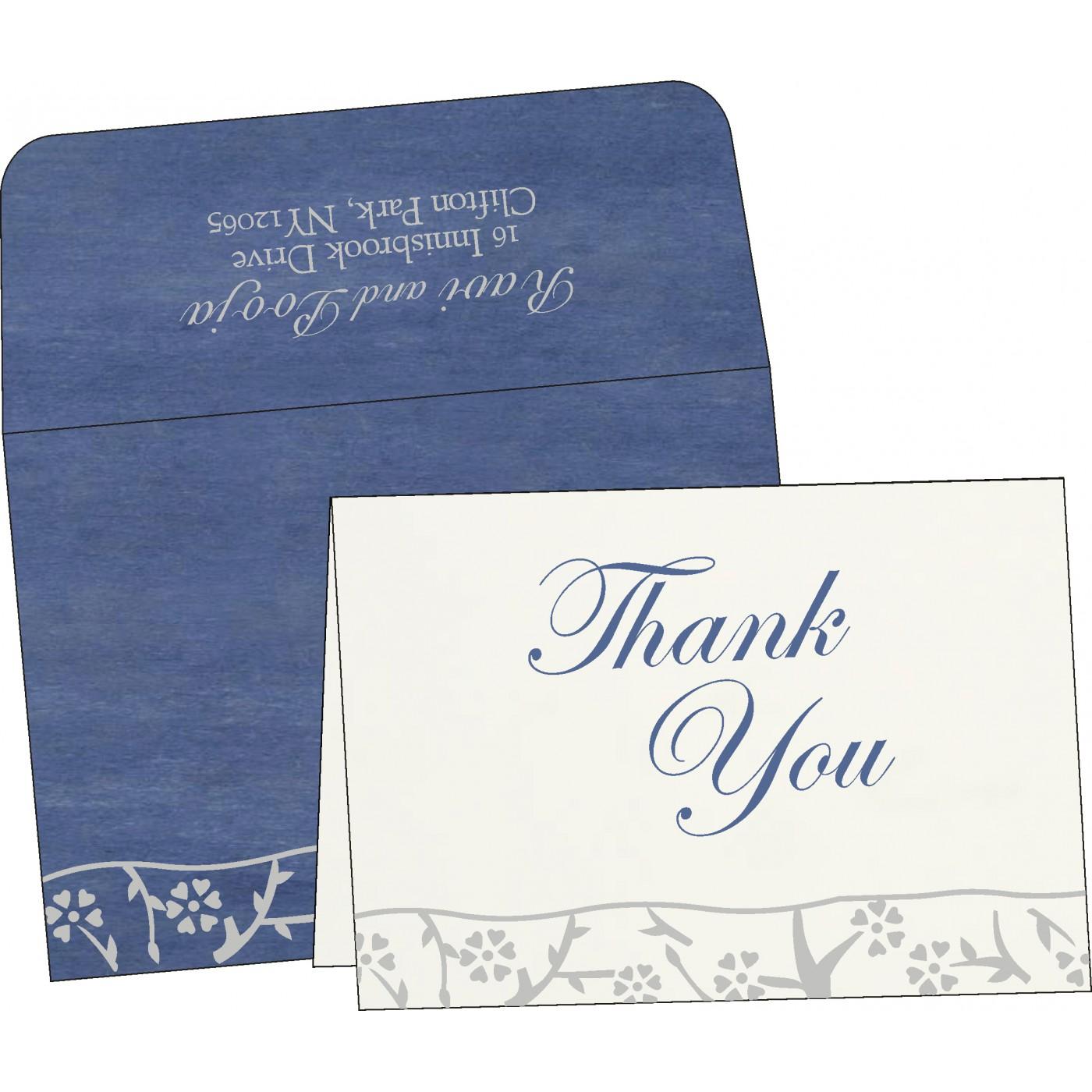 Thank You Cards : TYC-8216D - 123WeddingCards
