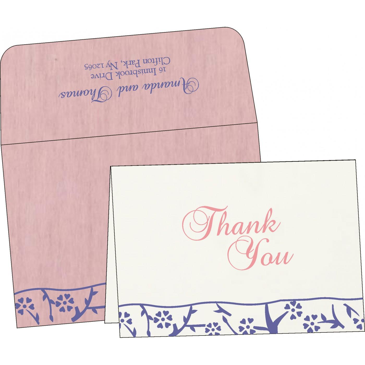 Thank You Cards : TYC-8216I - 123WeddingCards