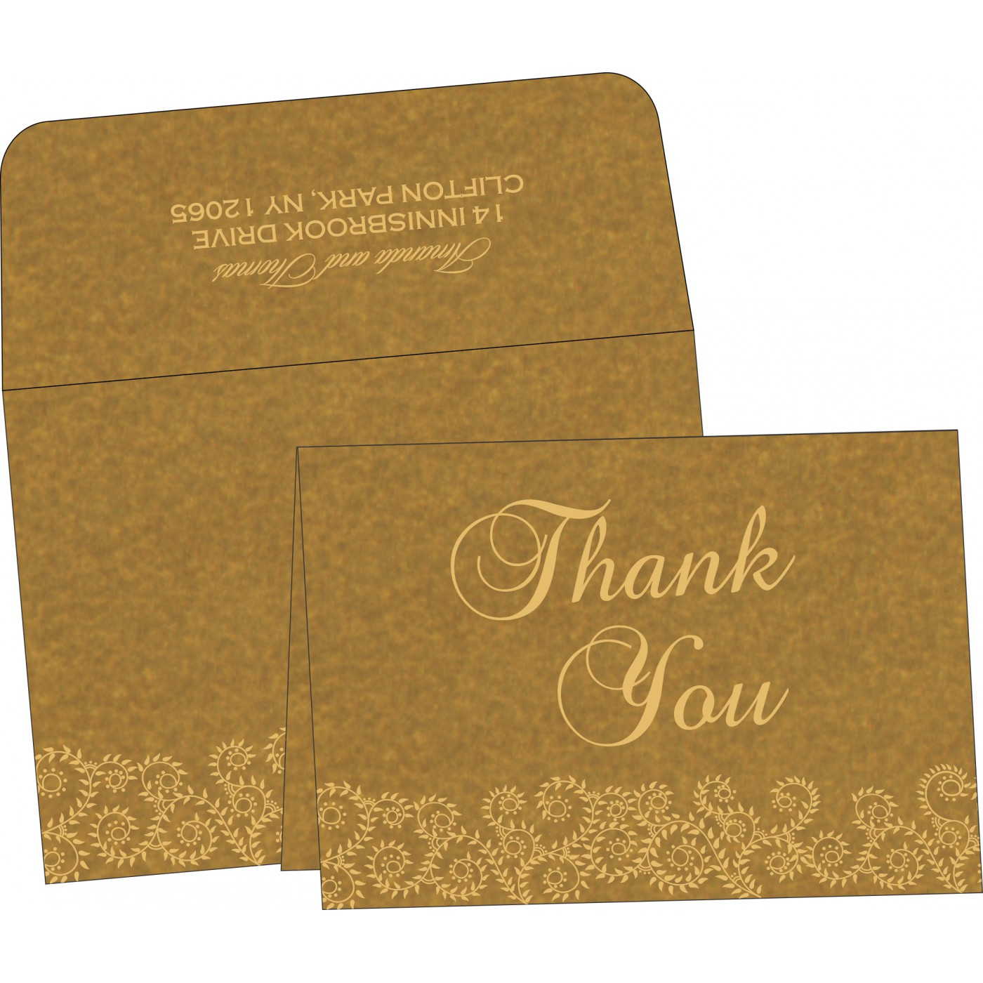 Thank You Cards : TYC-8217C - 123WeddingCards