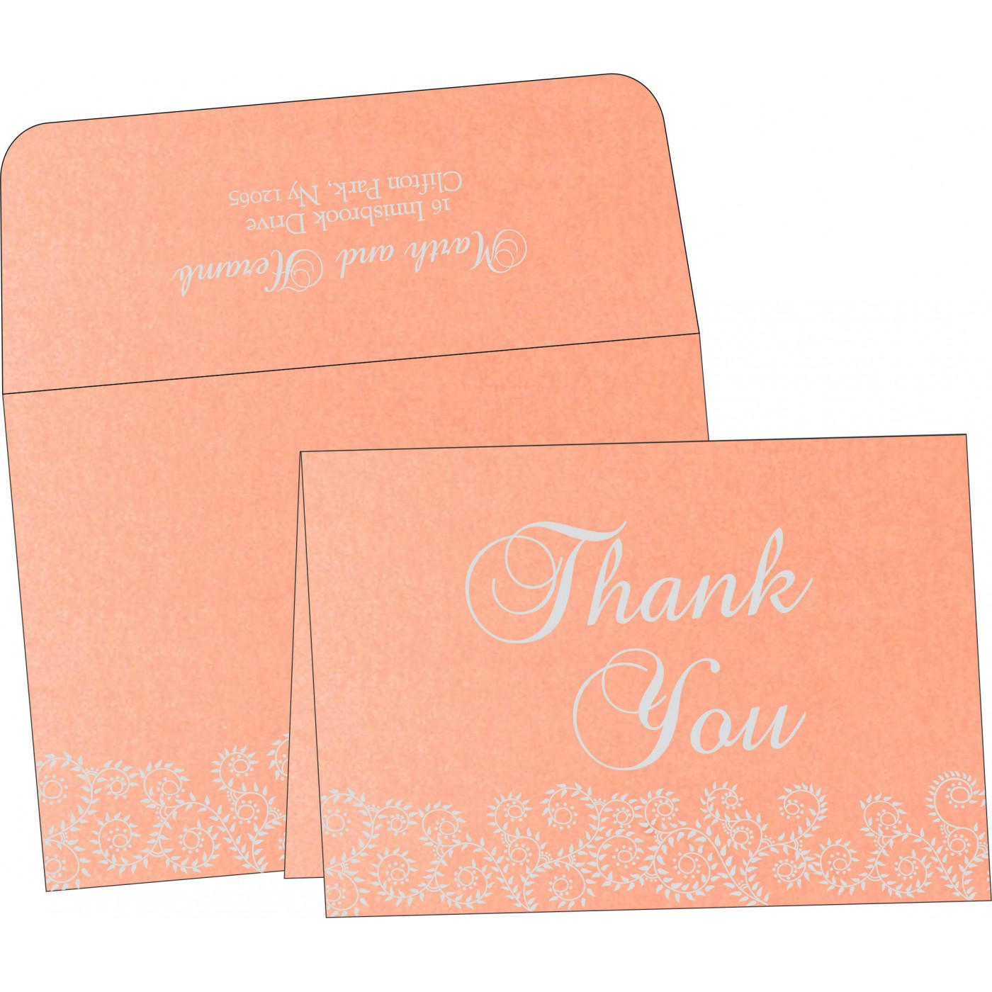 Thank You Cards : TYC-8217E - 123WeddingCards