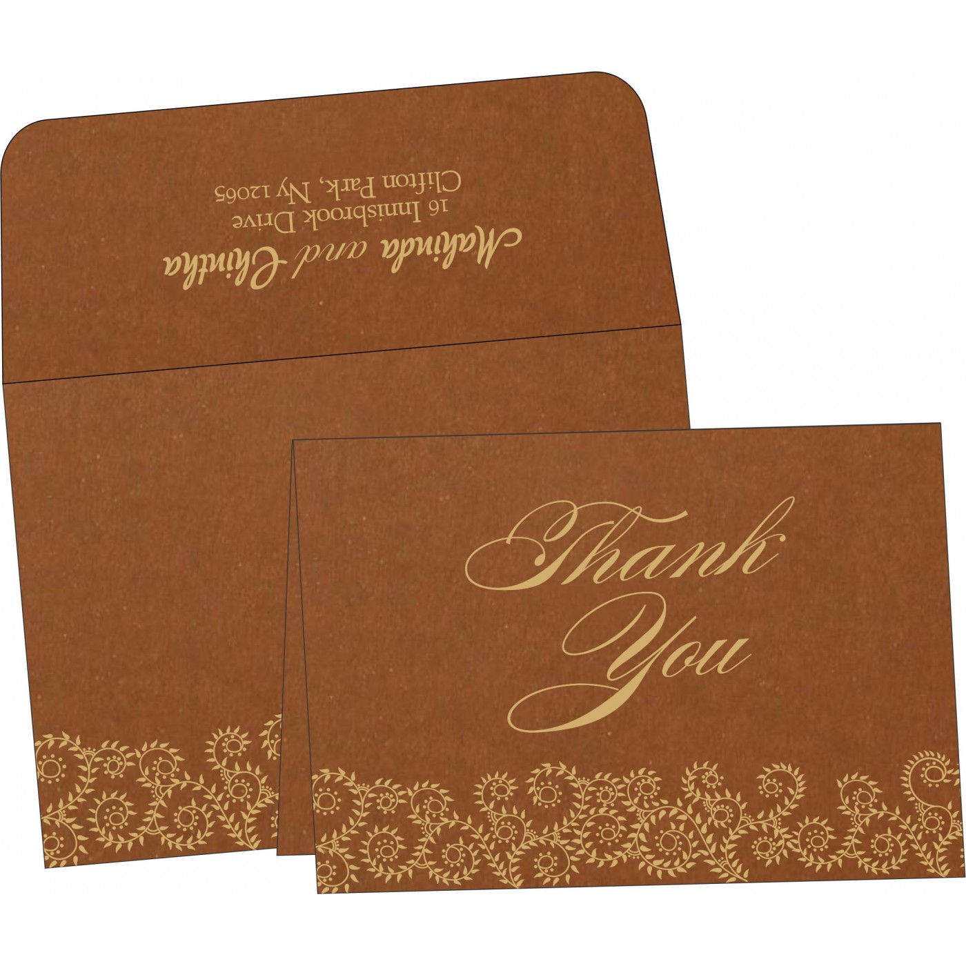 Thank You Cards : TYC-8217I - 123WeddingCards